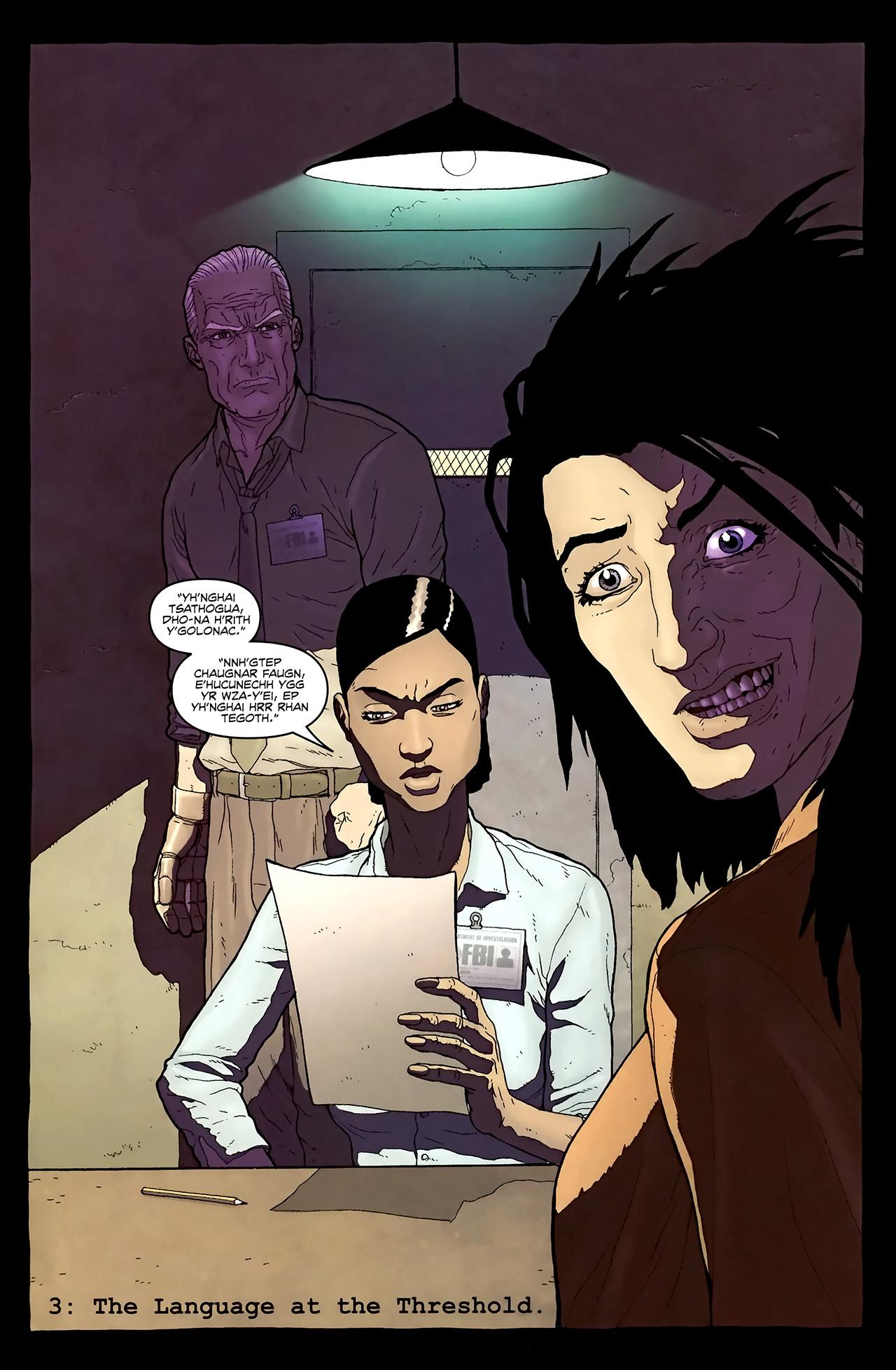 Read online Alan Moore's Neonomicon comic -  Issue #3 - 6