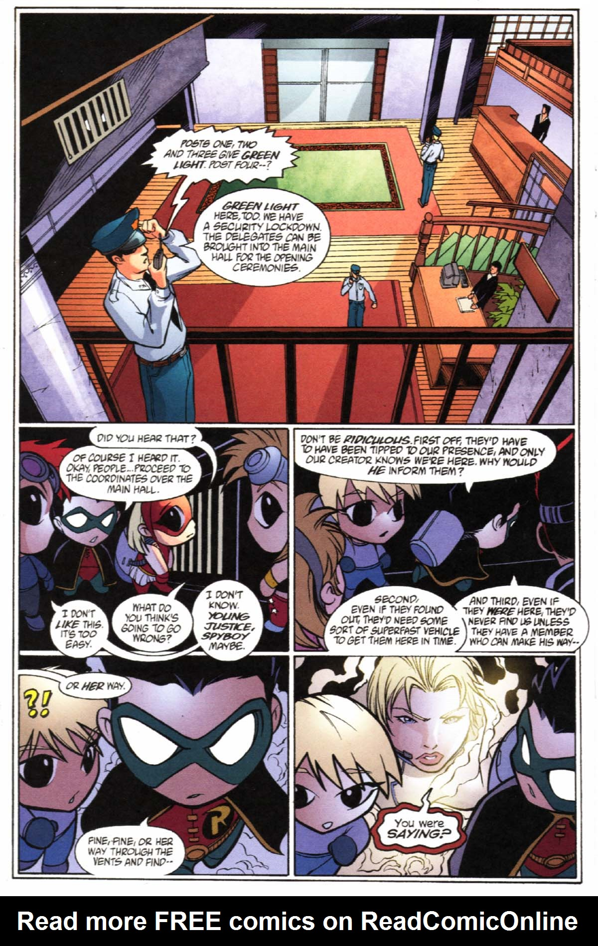 Read online SpyBoy/Young Justice comic -  Issue #2 - 23