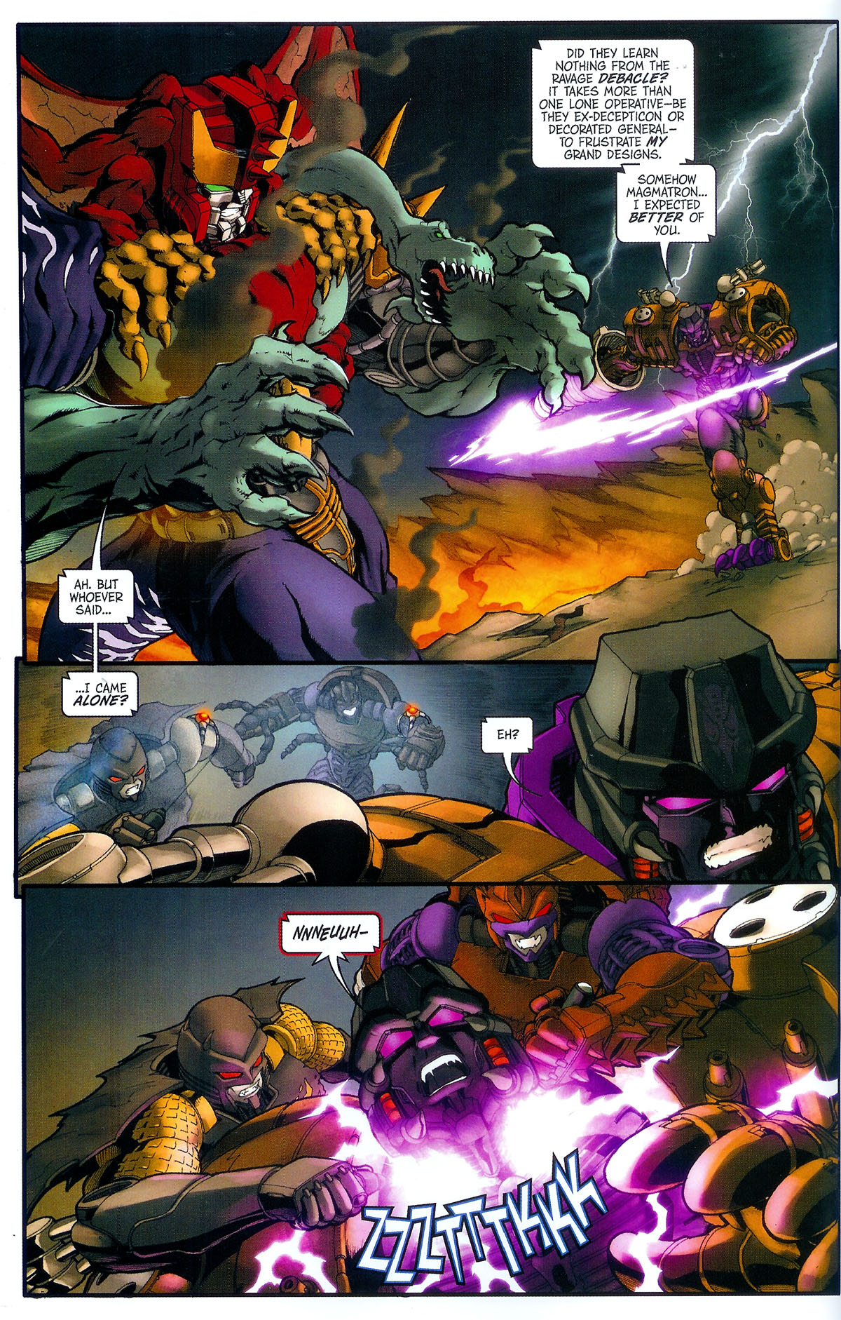 Read online Transformers, Beast Wars: The Gathering comic -  Issue #3 - 19