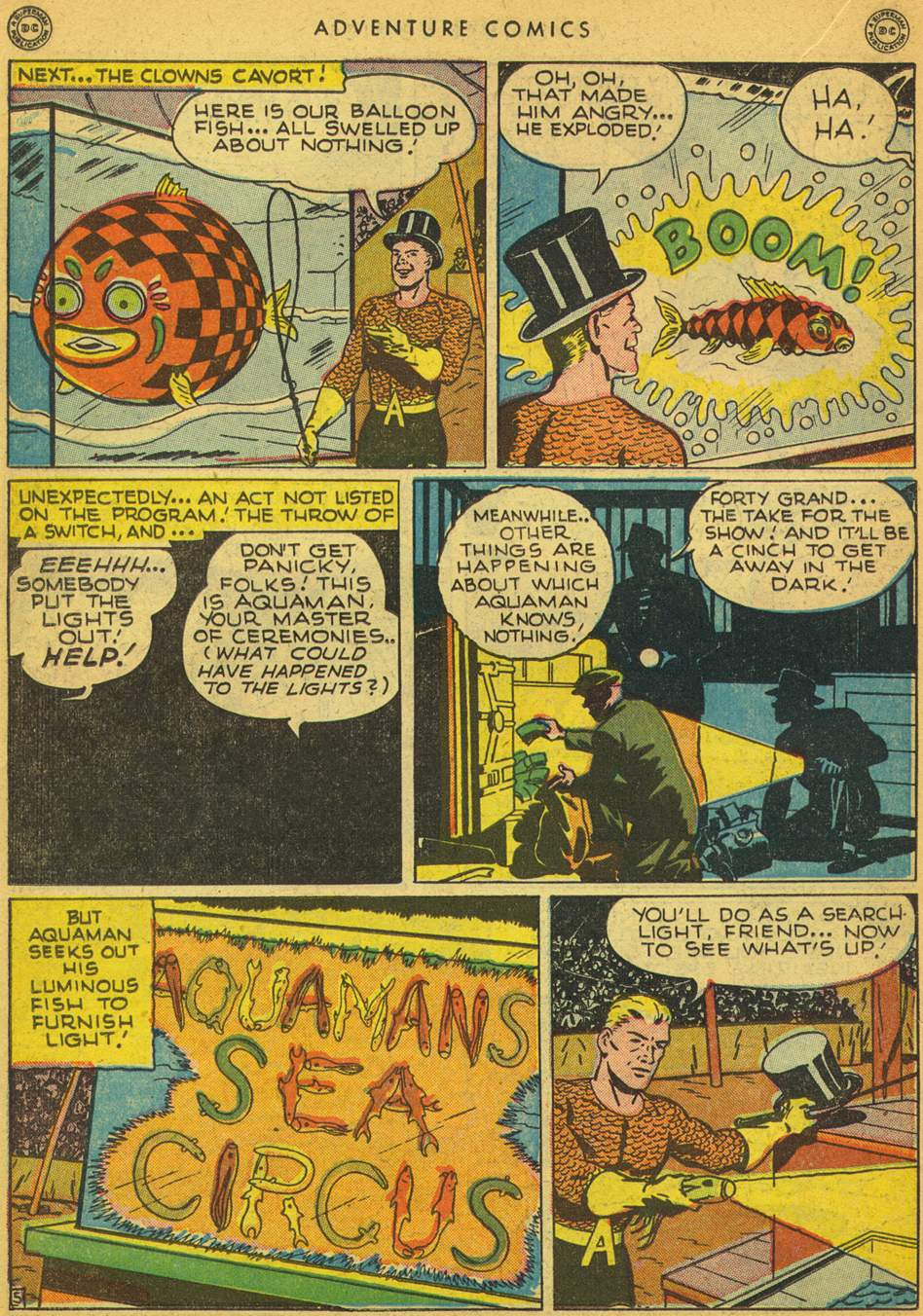 Read online Adventure Comics (1938) comic -  Issue #128 - 30