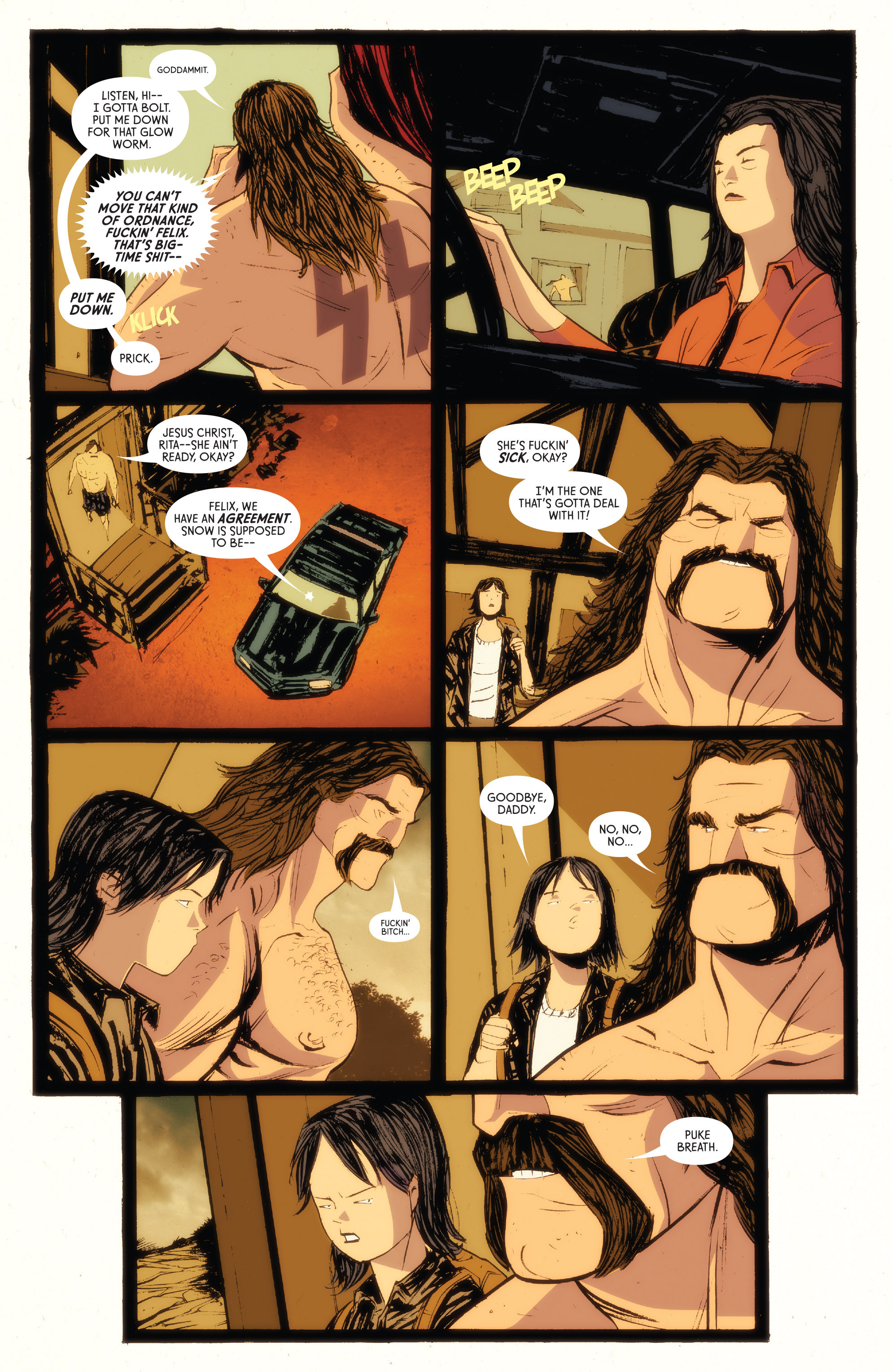 Read online American Monster comic -  Issue #5 - 6