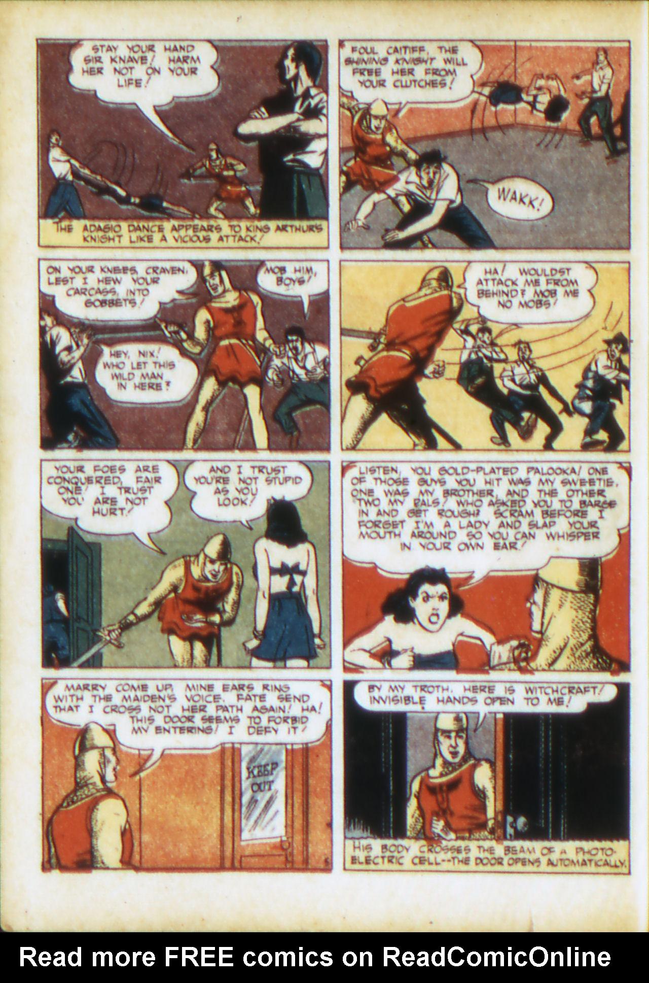 Read online Adventure Comics (1938) comic -  Issue #71 - 23
