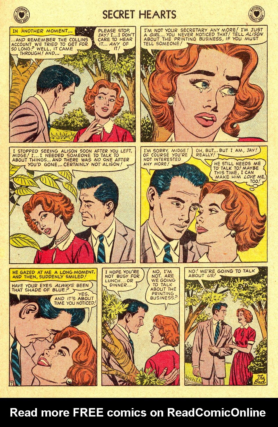 Read online Secret Hearts comic -  Issue #45 - 9