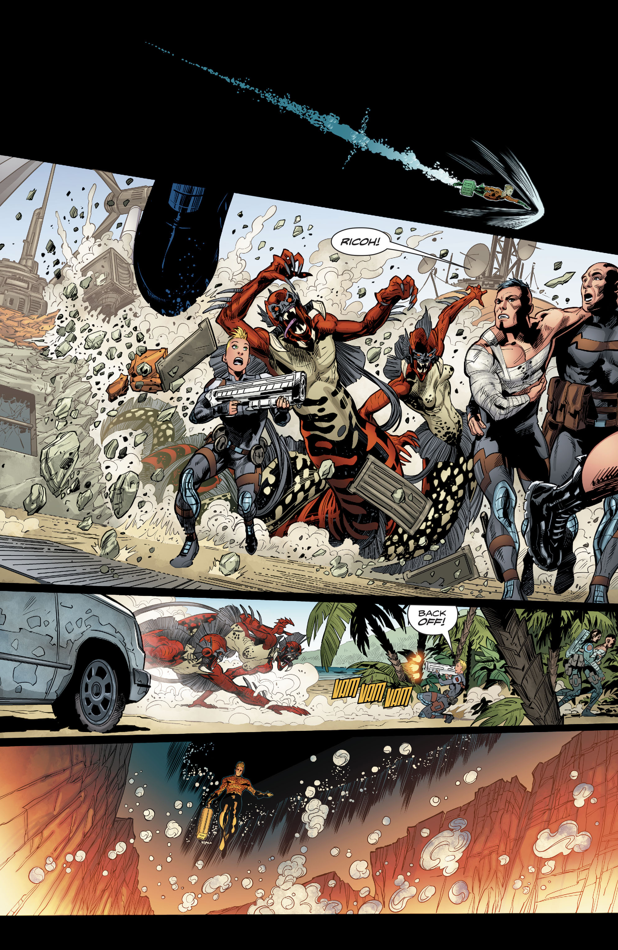 Read online Aquaman (2016) comic -  Issue #22 - 17