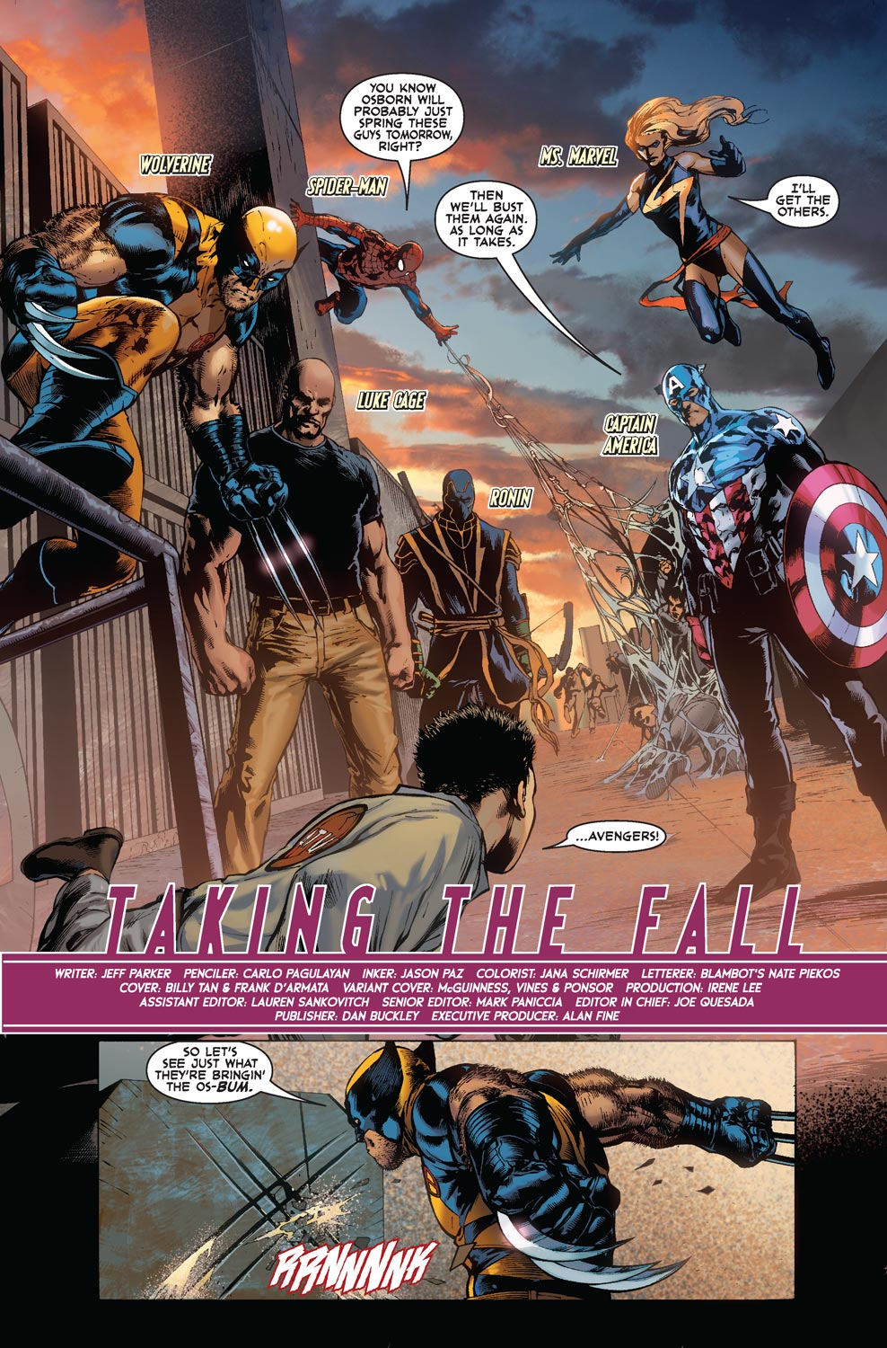 Read online Agents Of Atlas (2009) comic -  Issue #5 - 4