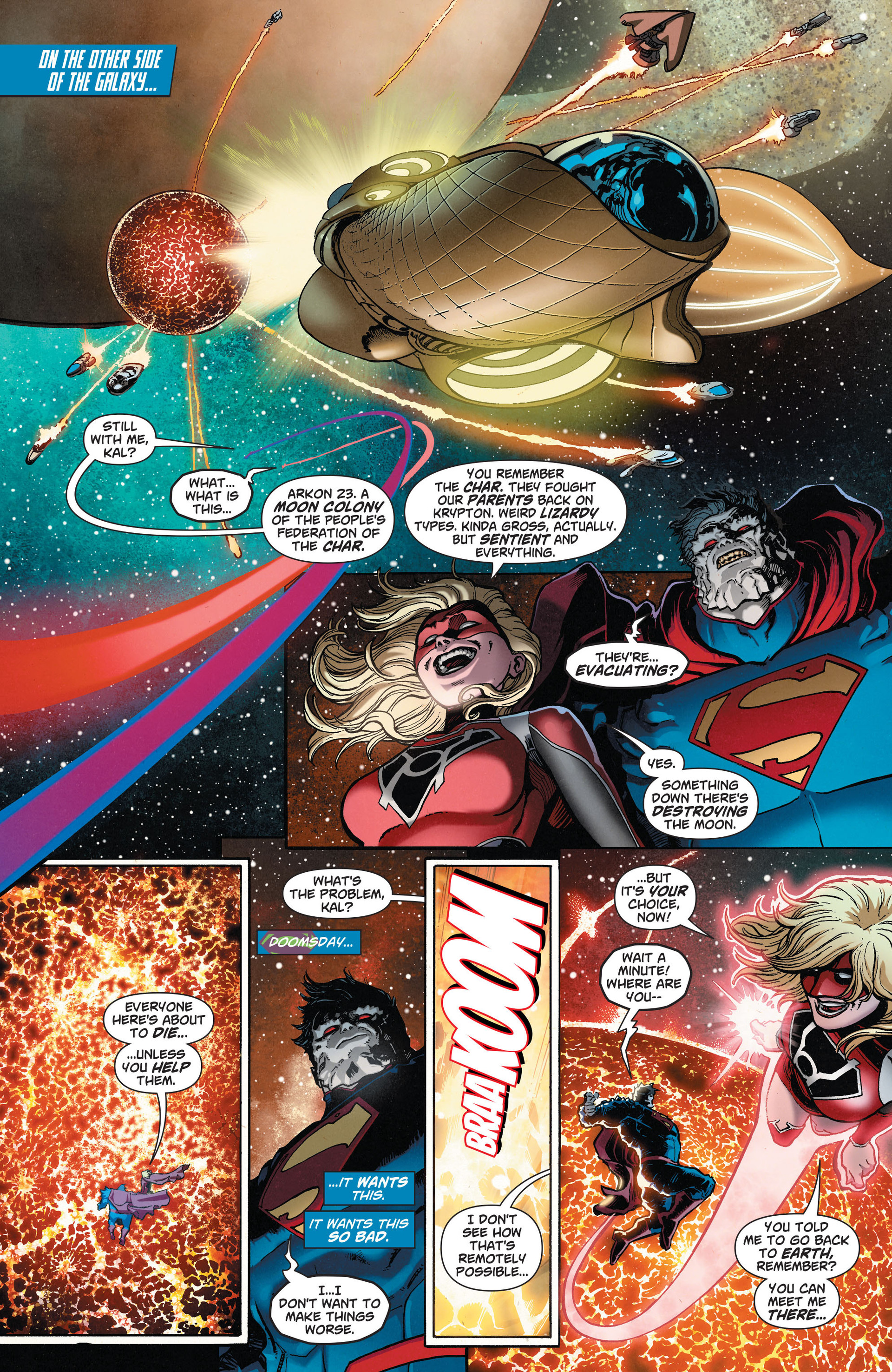 Read online Action Comics (2011) comic -  Issue #33 - 10