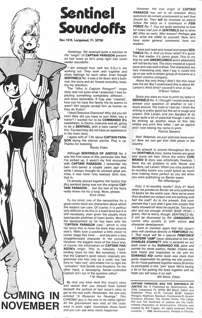 Captain Paragon and the Sentinels of Justice 5 Page 2