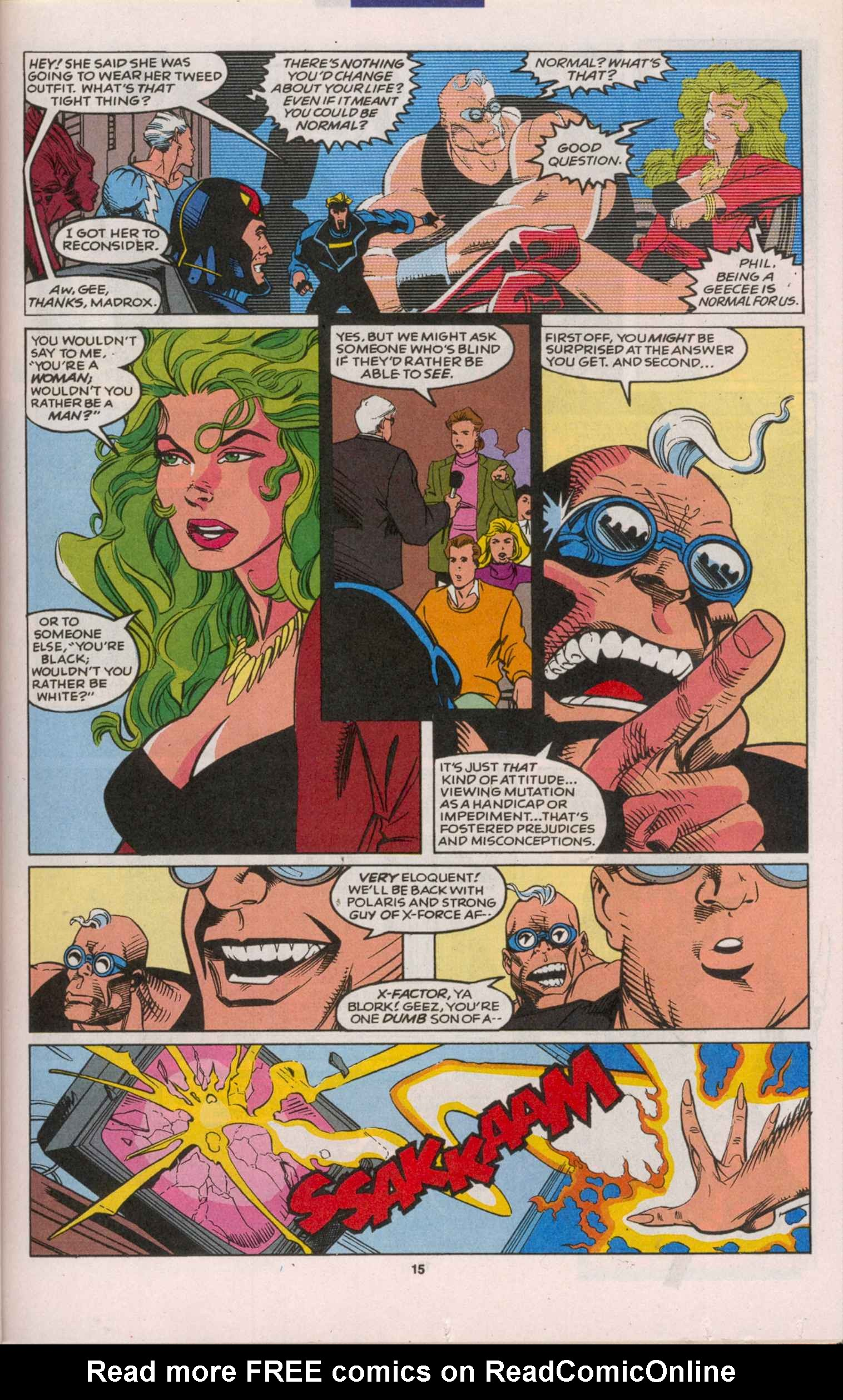 Read online X-Factor (1986) comic -  Issue # _ Annual 8 - 14