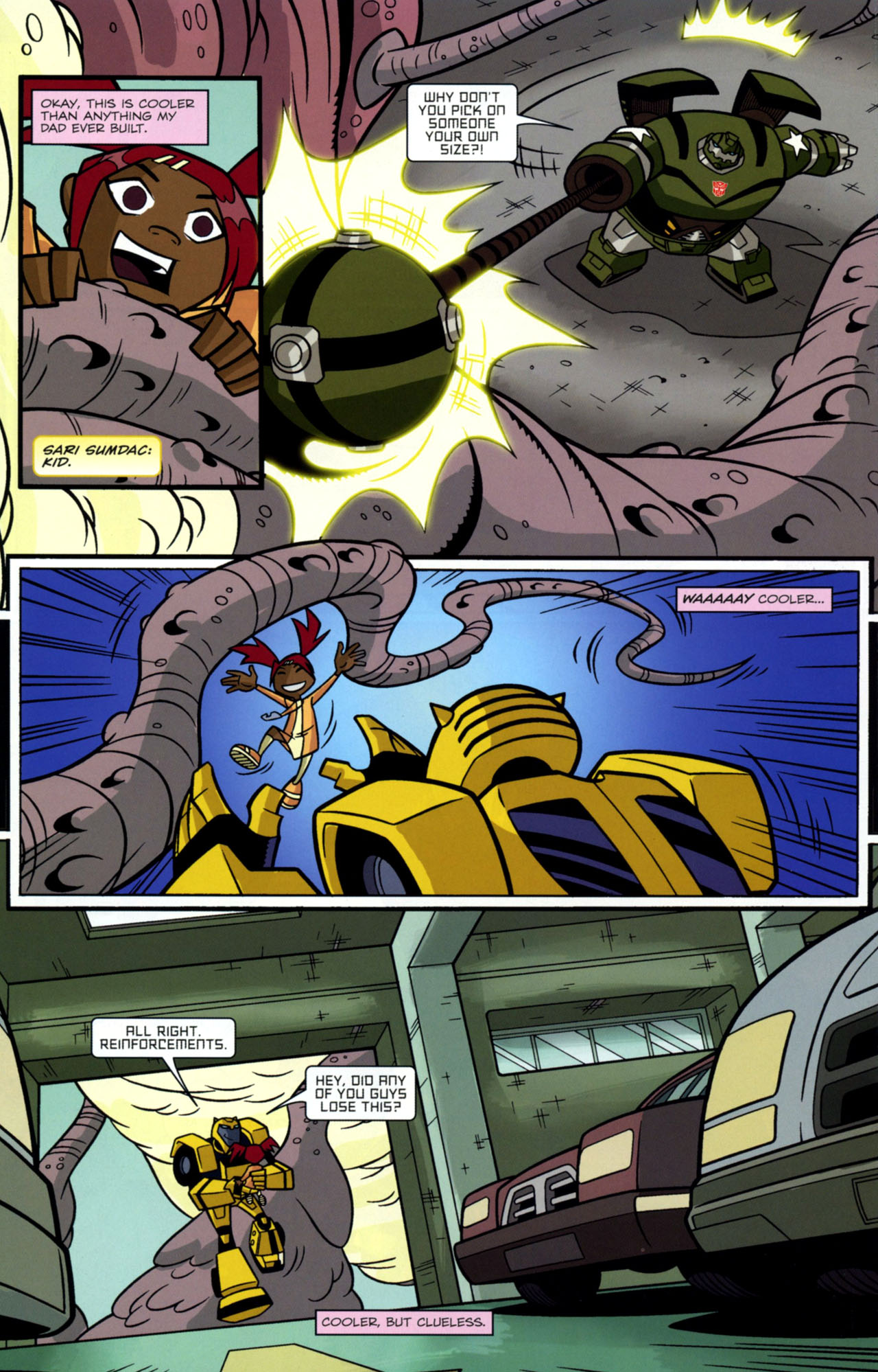 Read online Transformers Animated: The Arrival comic -  Issue #1 - 15