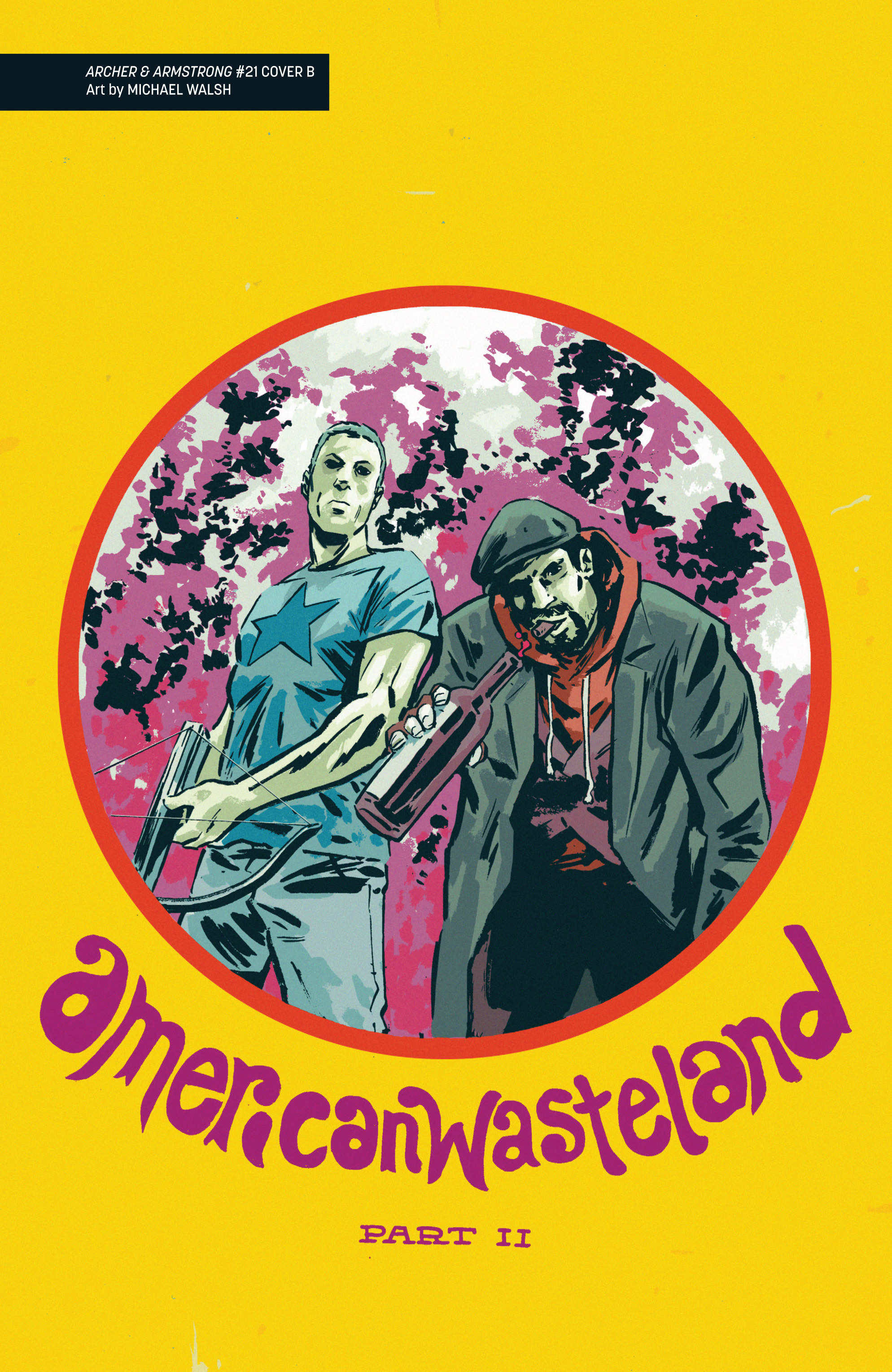 Read online Archer and Armstrong comic -  Issue #Archer and Armstrong _TPB 6 - 110
