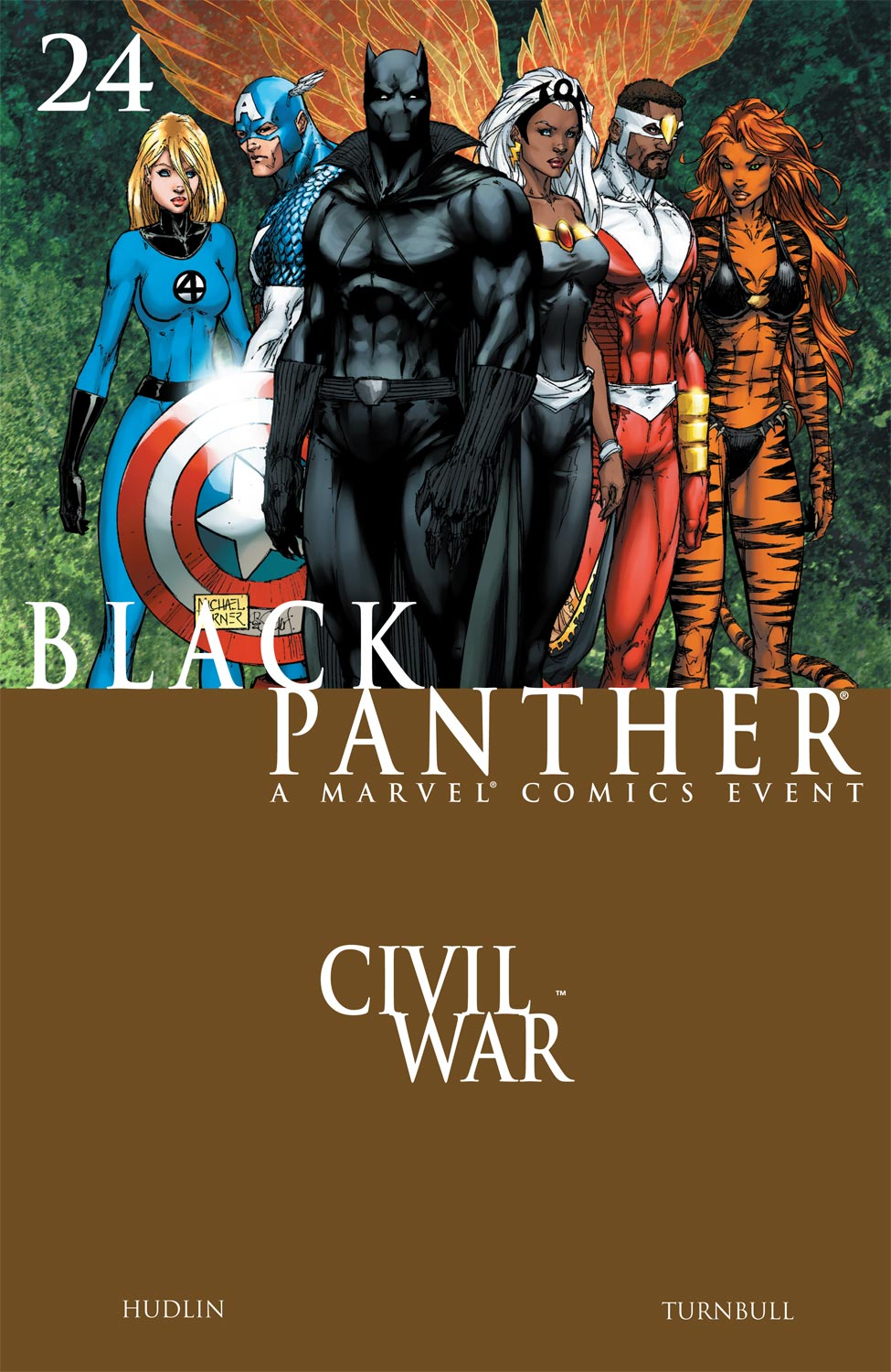 Black Panther (2005) 24 Page 1