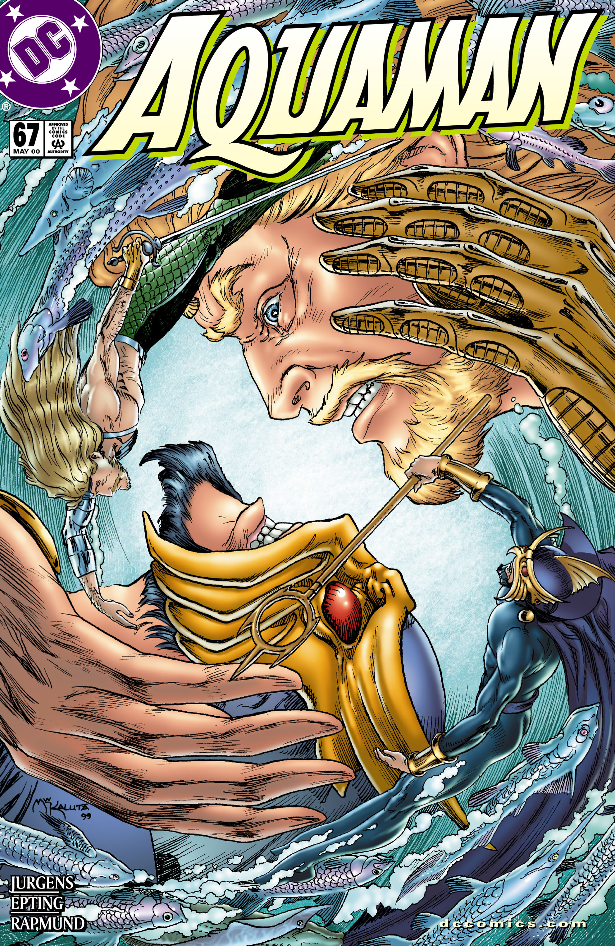Read online Aquaman (1994) comic -  Issue #67 - 1
