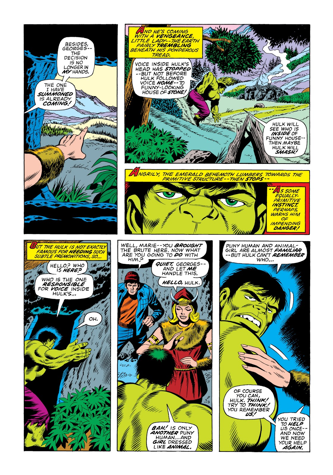Read online Marvel Masterworks: The Incredible Hulk comic -  Issue # TPB 10 (Part 2) - 95