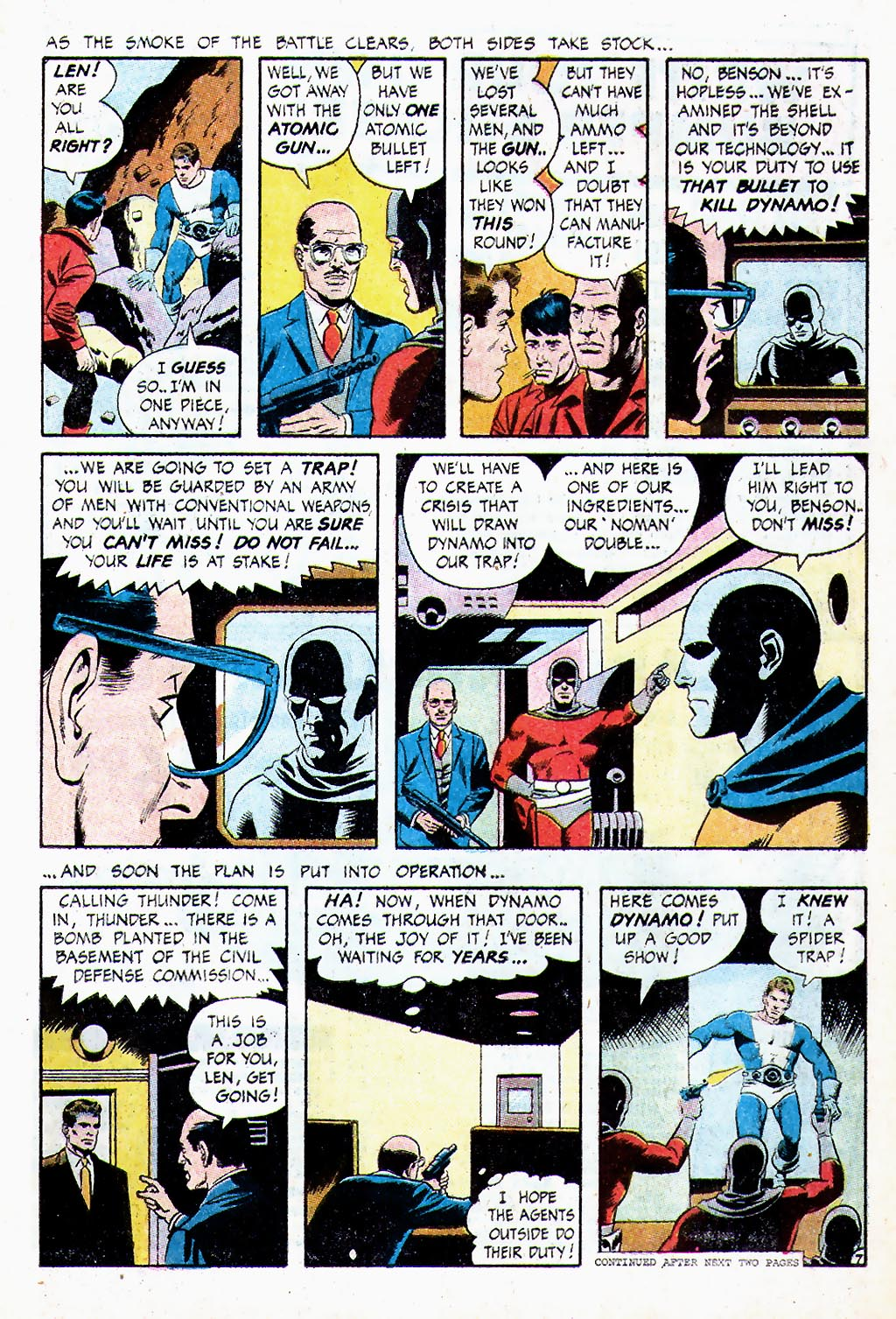 T.H.U.N.D.E.R. Agents (1965) issue 13 - Page 8