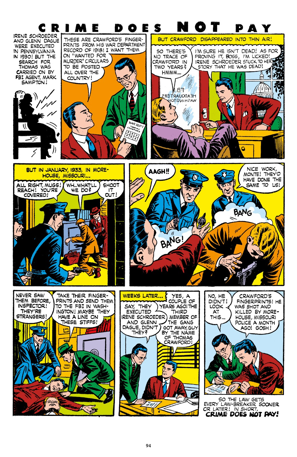 Read online Crime Does Not Pay Archives comic -  Issue # TPB 7 (Part 1) - 96