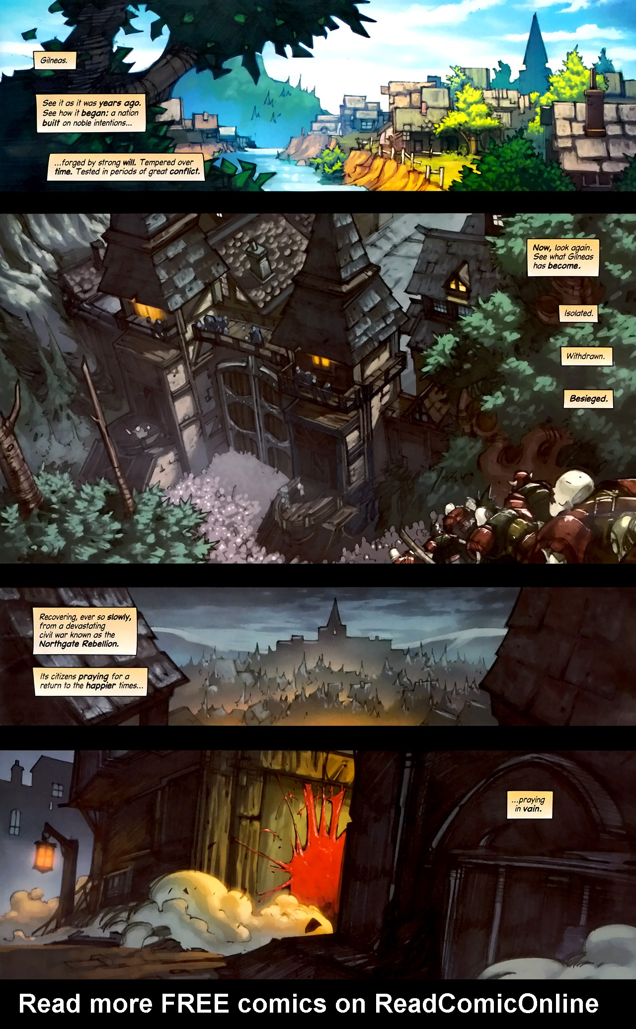 Read online World of Warcraft: Curse of the Worgen comic -  Issue #1 - 3