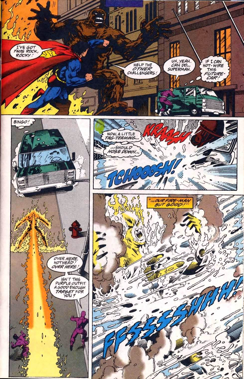 Read online Adventures of Superman (1987) comic -  Issue #508 - 19