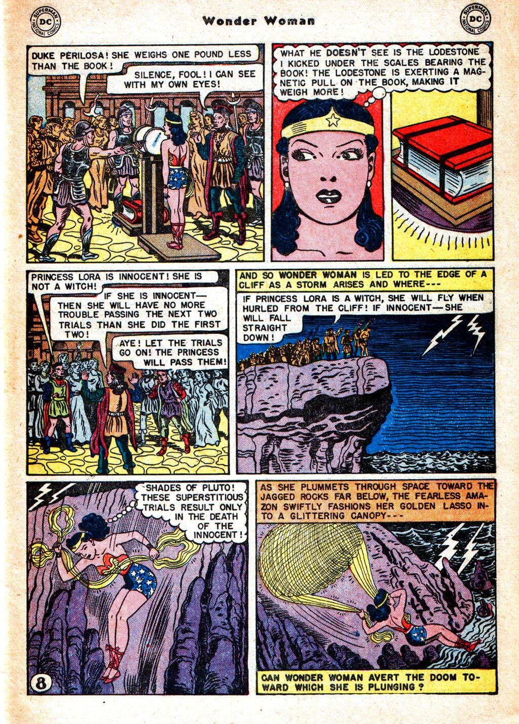 Read online Wonder Woman (1942) comic -  Issue #57 - 38
