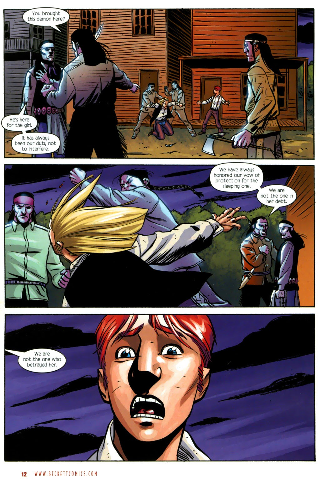 Read online The Ballad of Sleeping Beauty comic -  Issue #7 - 14