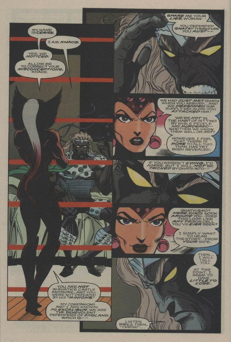 Excalibur (1988) issue Annual 1 - Page 15