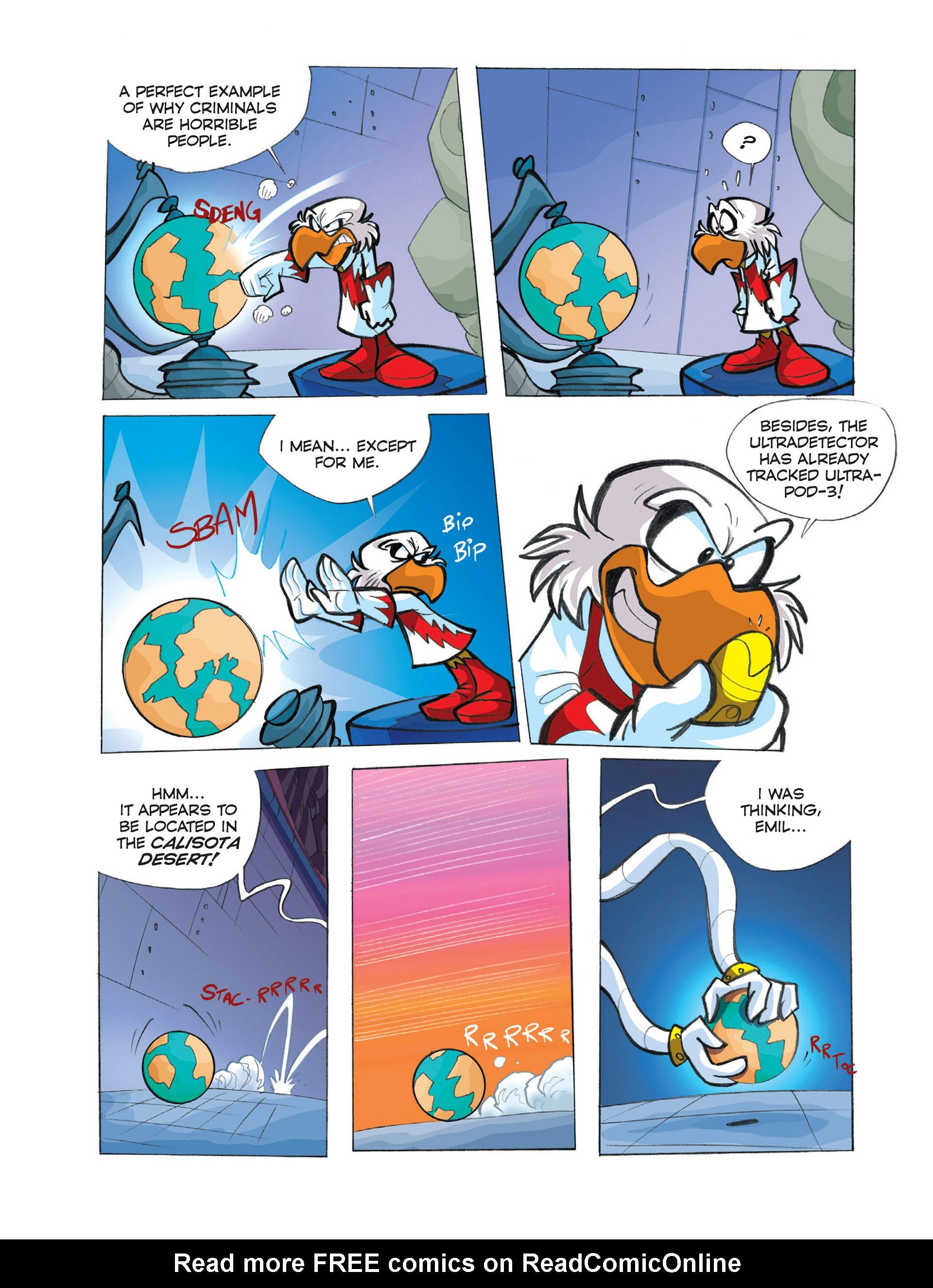 Read online Ultraheroes comic -  Issue #2 - 26