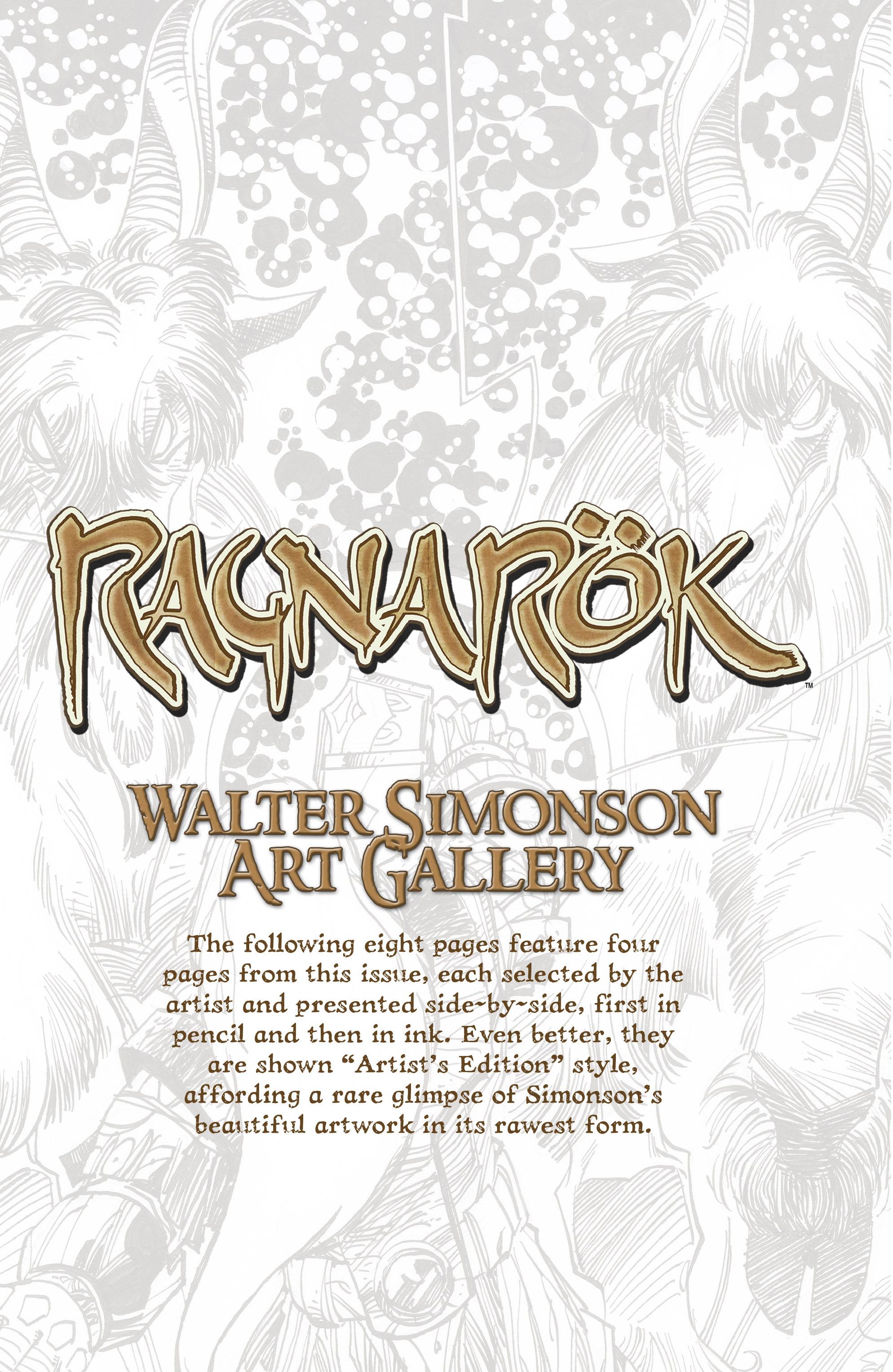 Read online Ragnarok comic -  Issue #12 - 23