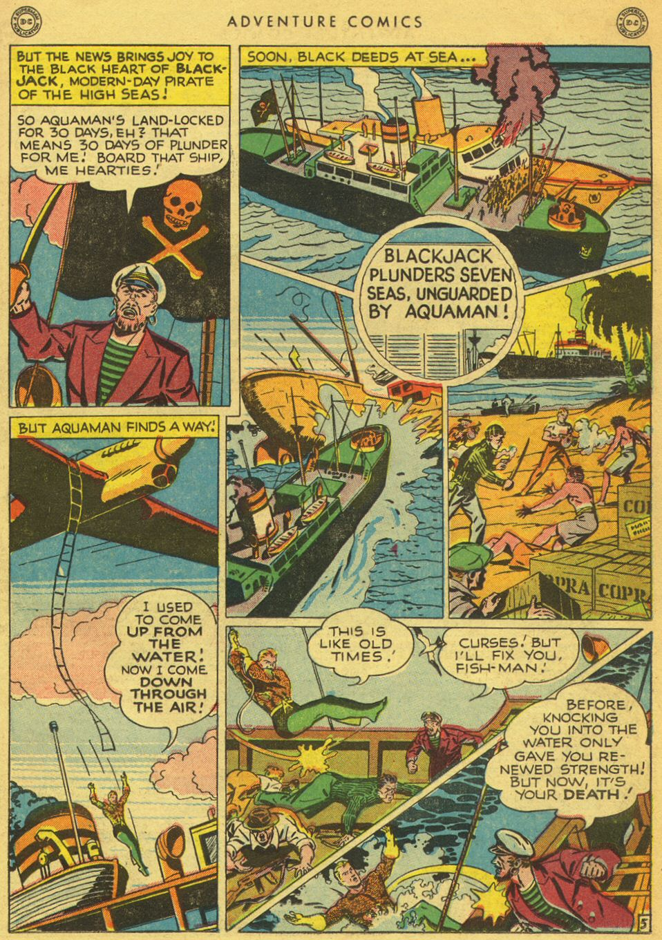 Read online Adventure Comics (1938) comic -  Issue #134 - 33