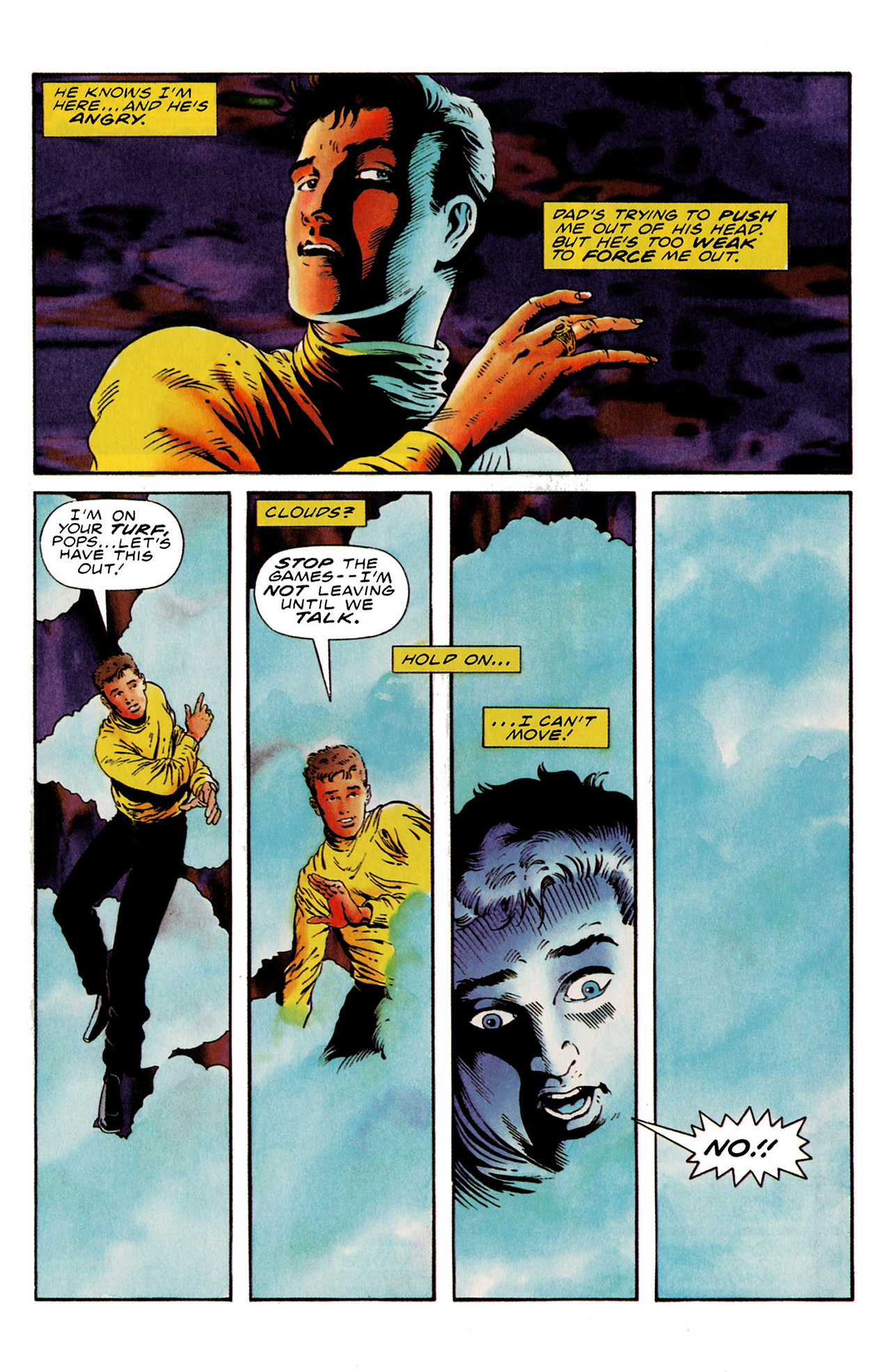 Read online Harbinger (1992) comic -  Issue #21 - 17