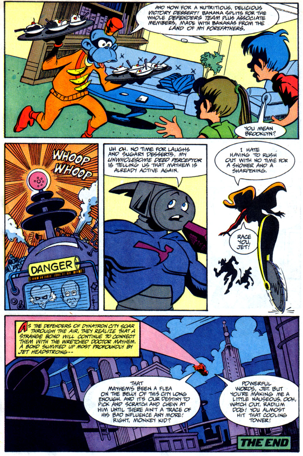 Read online Defenders of Dynatron City comic -  Issue #1 - 23
