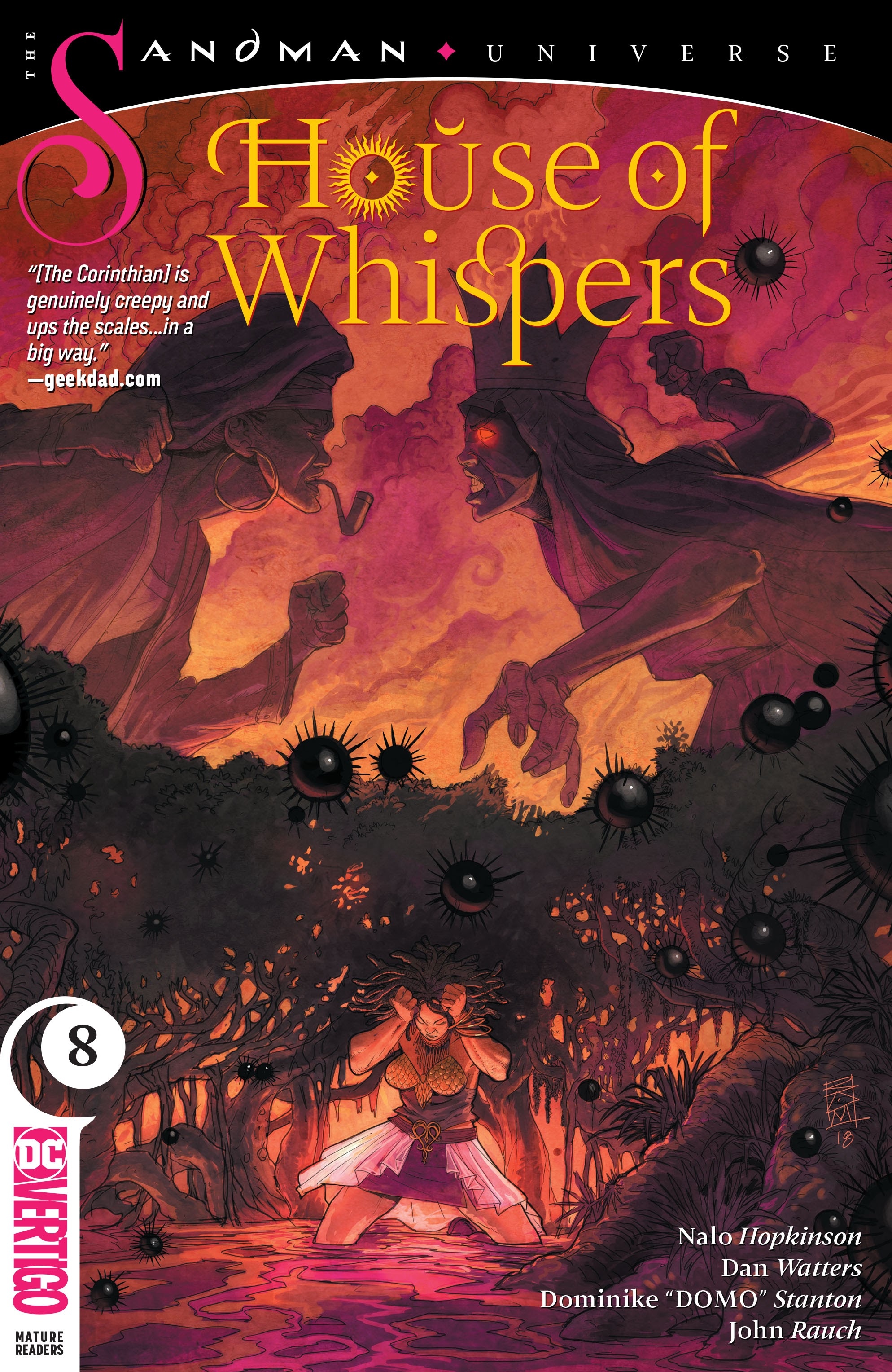 House of Whispers 8 Page 1