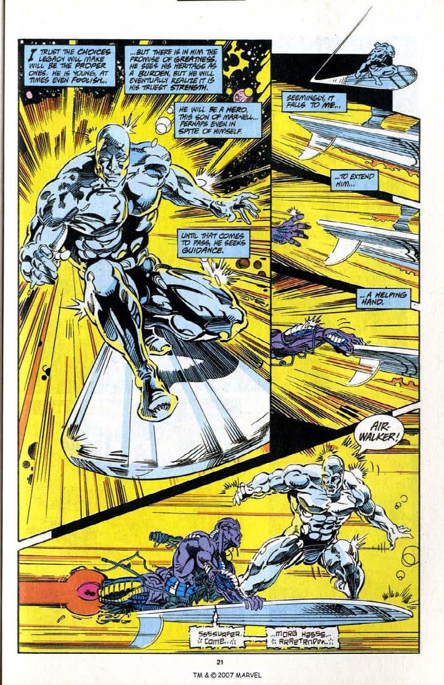Read online Silver Surfer (1987) comic -  Issue # _Annual 7 - 23