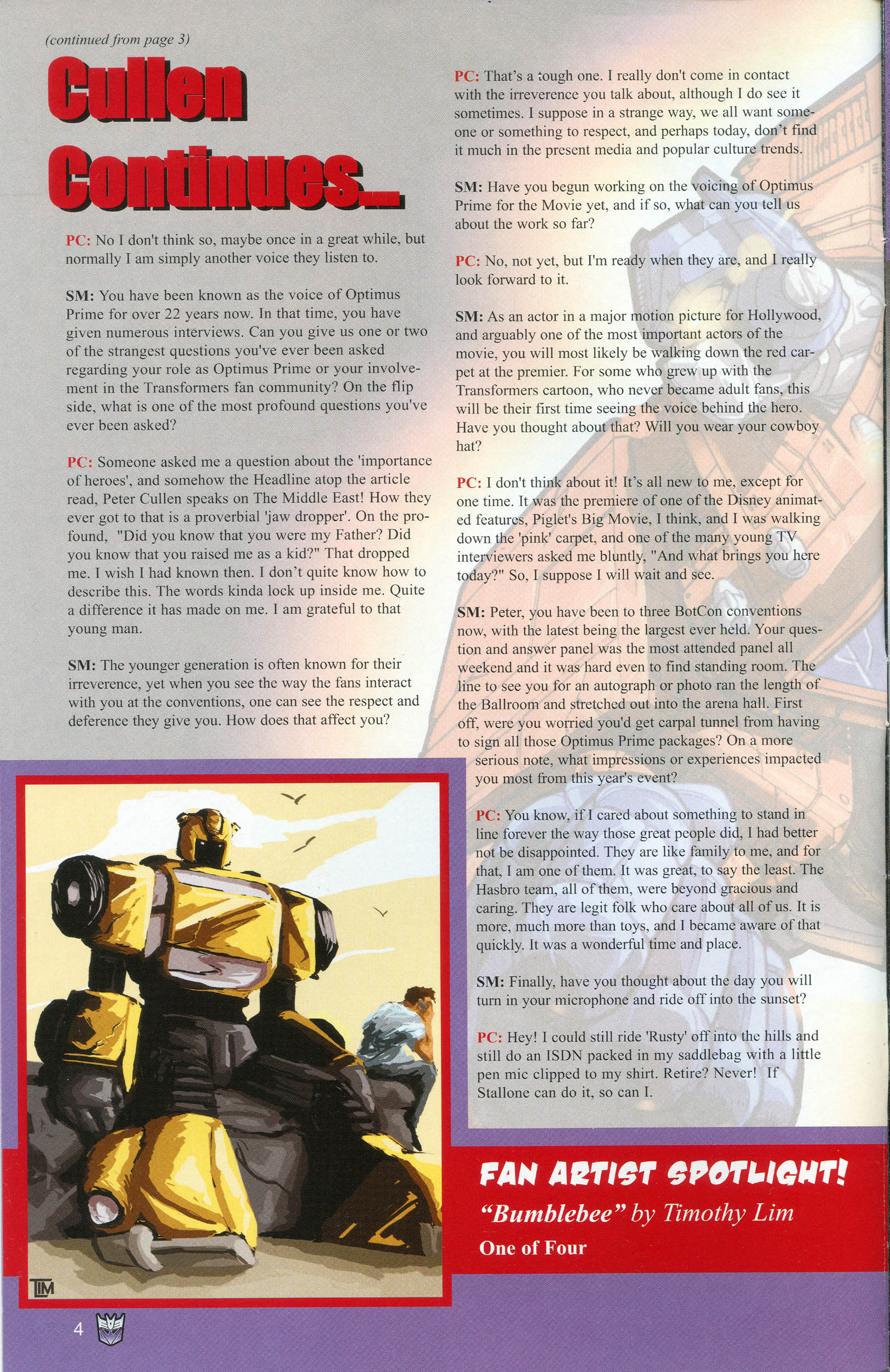 Read online Transformers: Collectors' Club comic -  Issue #13 - 4