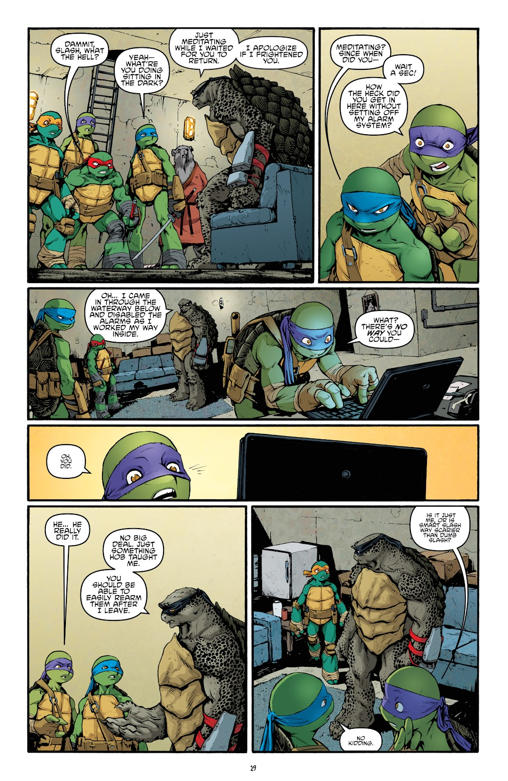 Read online Teenage Mutant Ninja Turtles: The IDW Collection comic -  Issue # TPB 5 (Part 2) - 5
