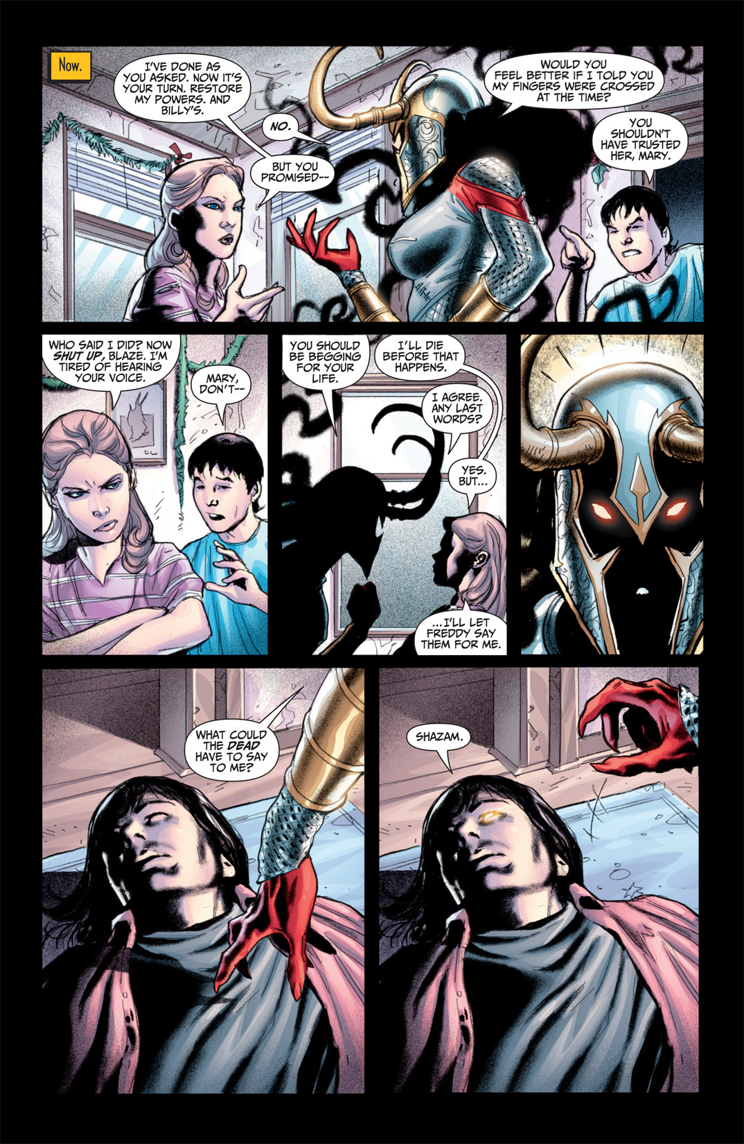 Read online Shazam! (2011) comic -  Issue #1 - 8