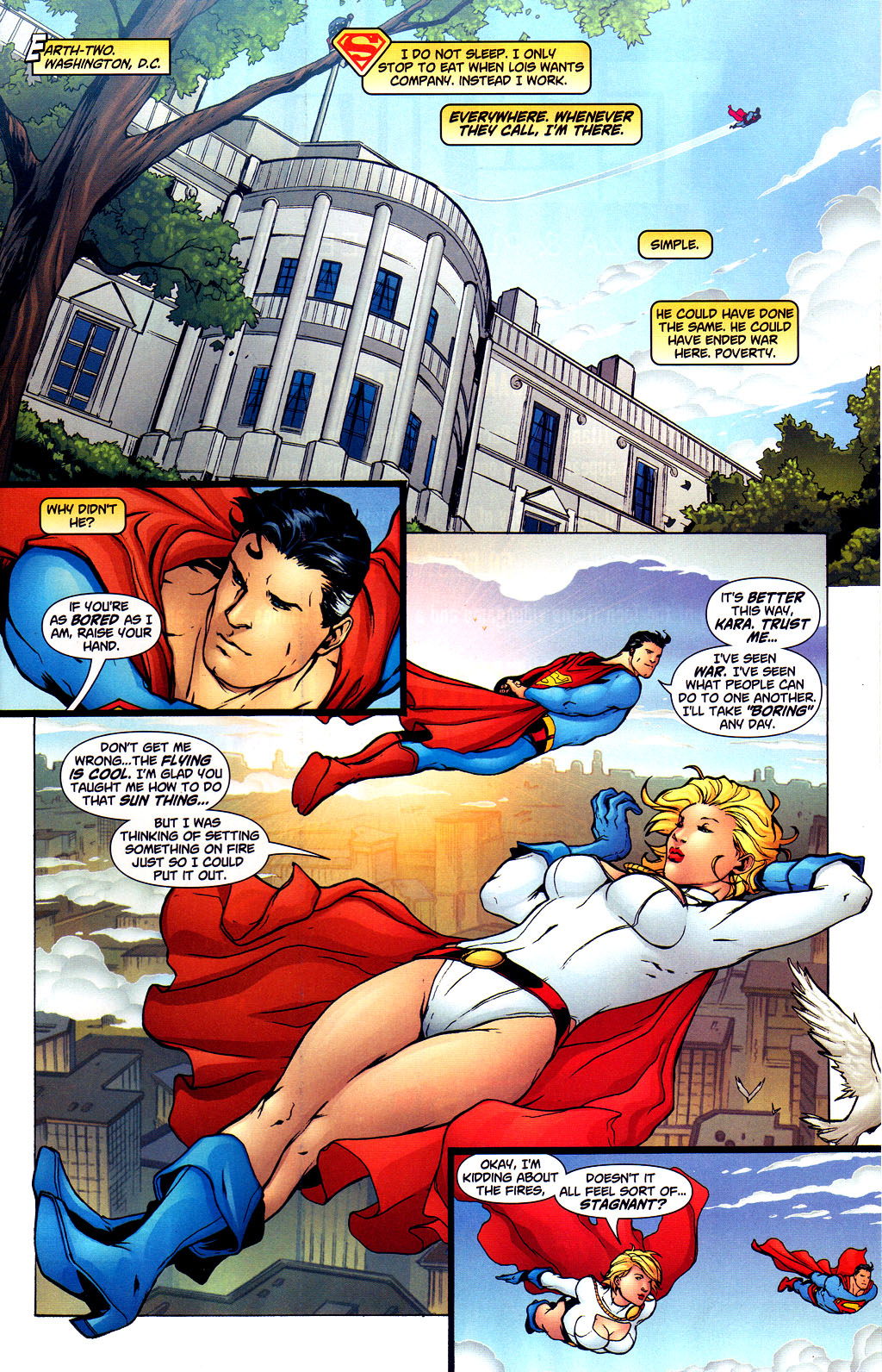 Read online Adventures of Superman (1987) comic -  Issue #649 - 7