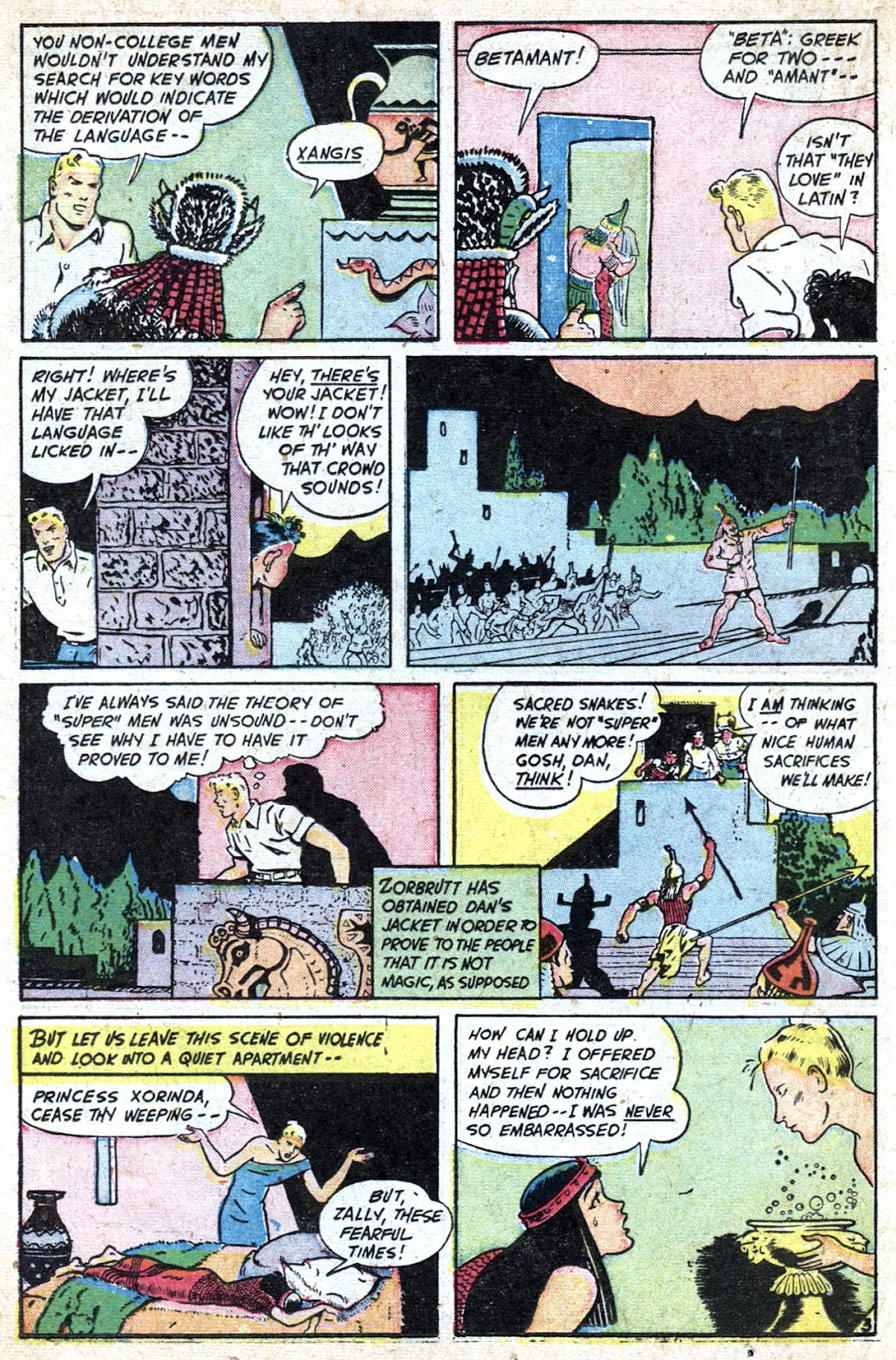 Read online Famous Funnies comic -  Issue #184 - 22