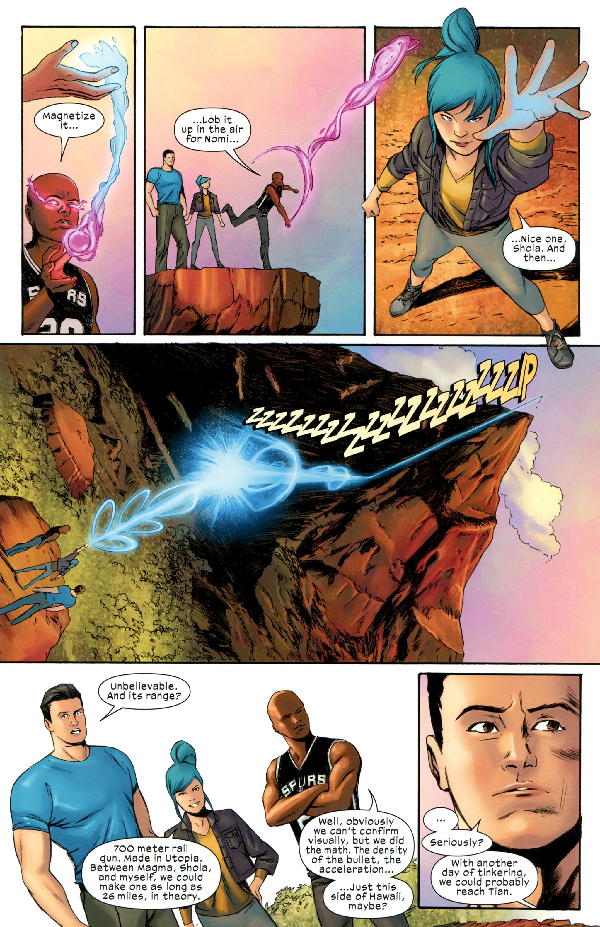 Read online Ultimate Comics X-Men comic -  Issue #31 - 18