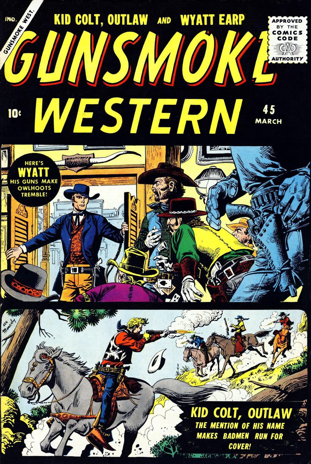 Gunsmoke Western issue 45 - Page 1