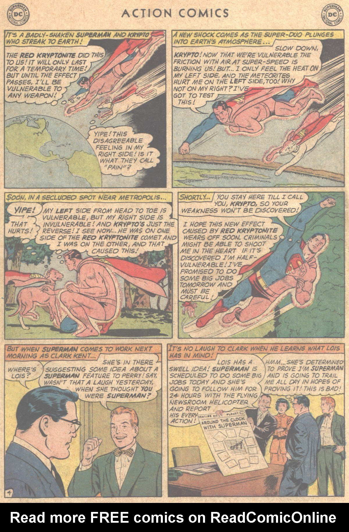 Read online Action Comics (1938) comic -  Issue #290 - 6