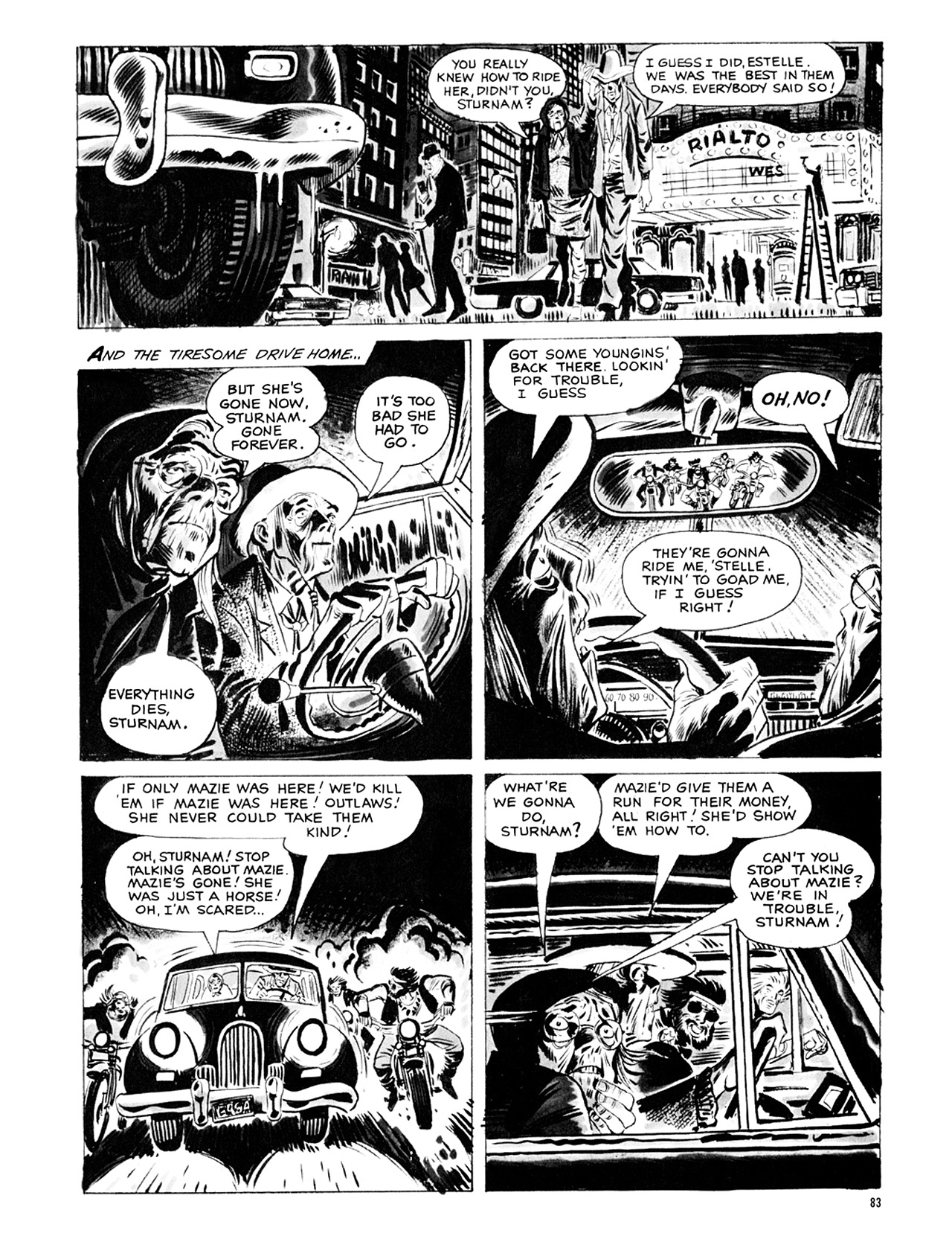 Read online Eerie Archives comic -  Issue # TPB 9 - 84