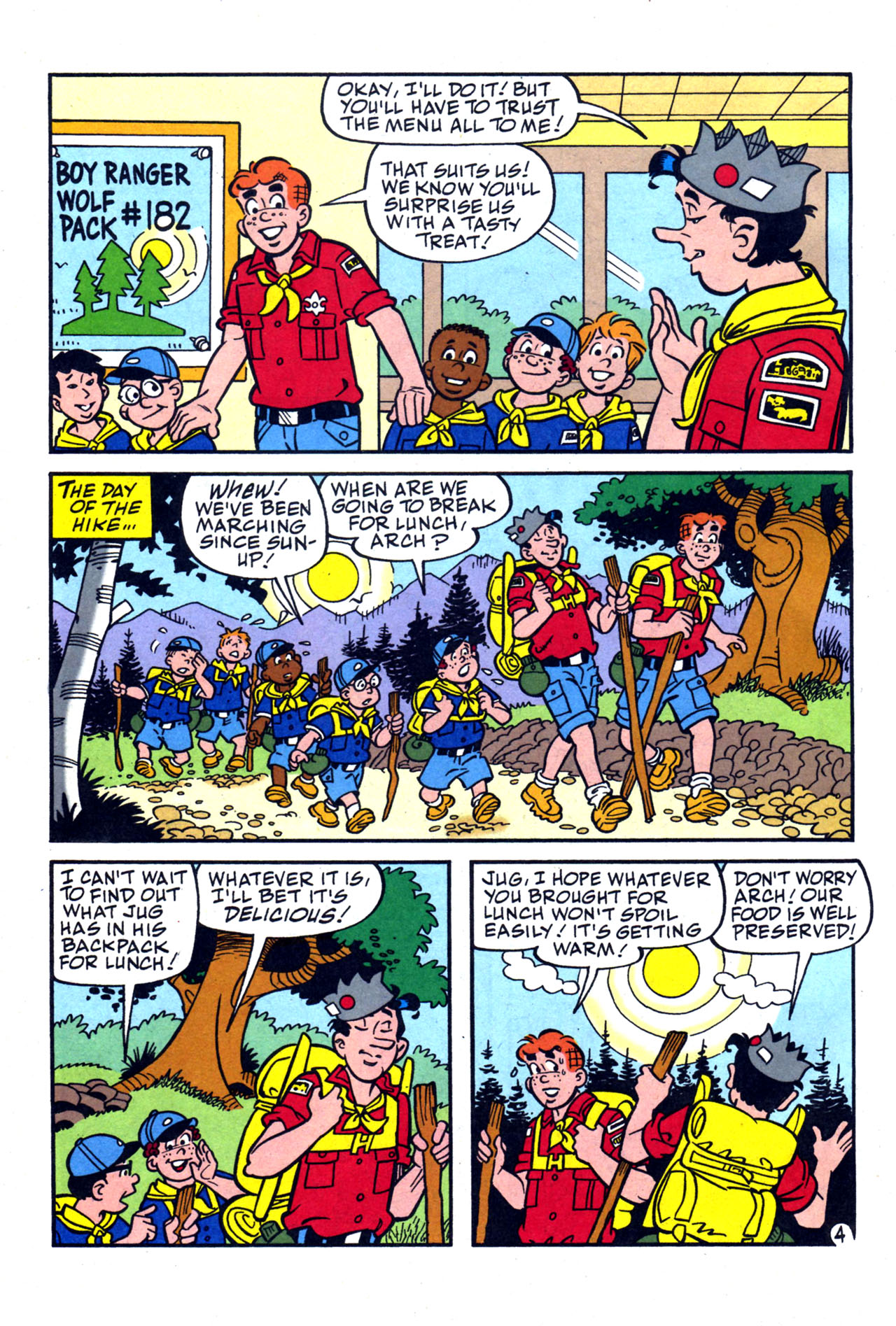 Read online Archie (1960) comic -  Issue #577 - 22