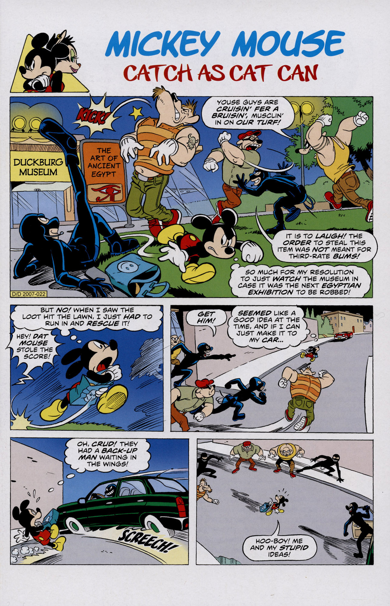 Read online Mickey Mouse (2011) comic -  Issue #306 - 3