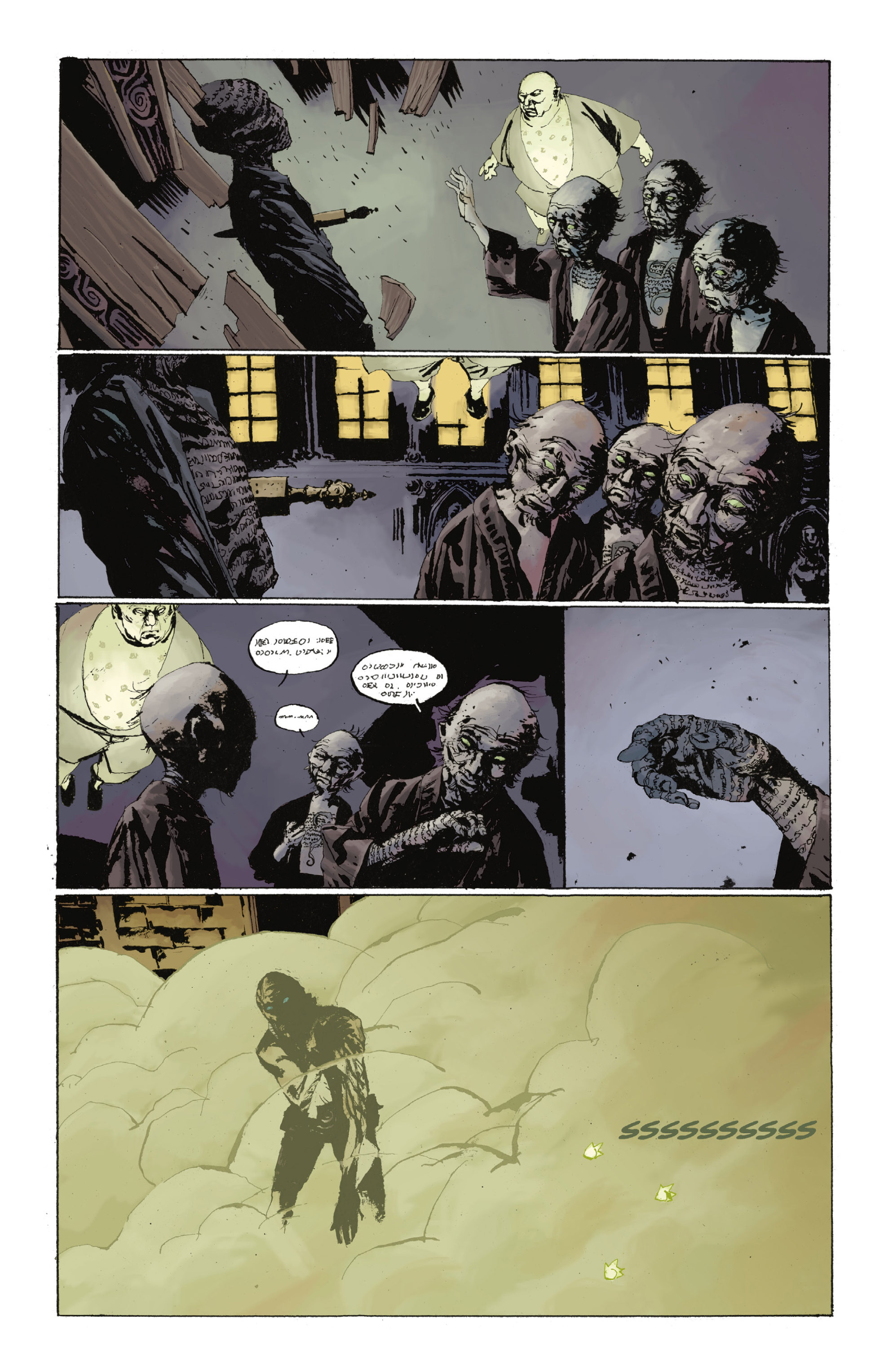 Read online Abe Sapien: The Drowning comic -  Issue #Abe Sapien: The Drowning _TPB - 65