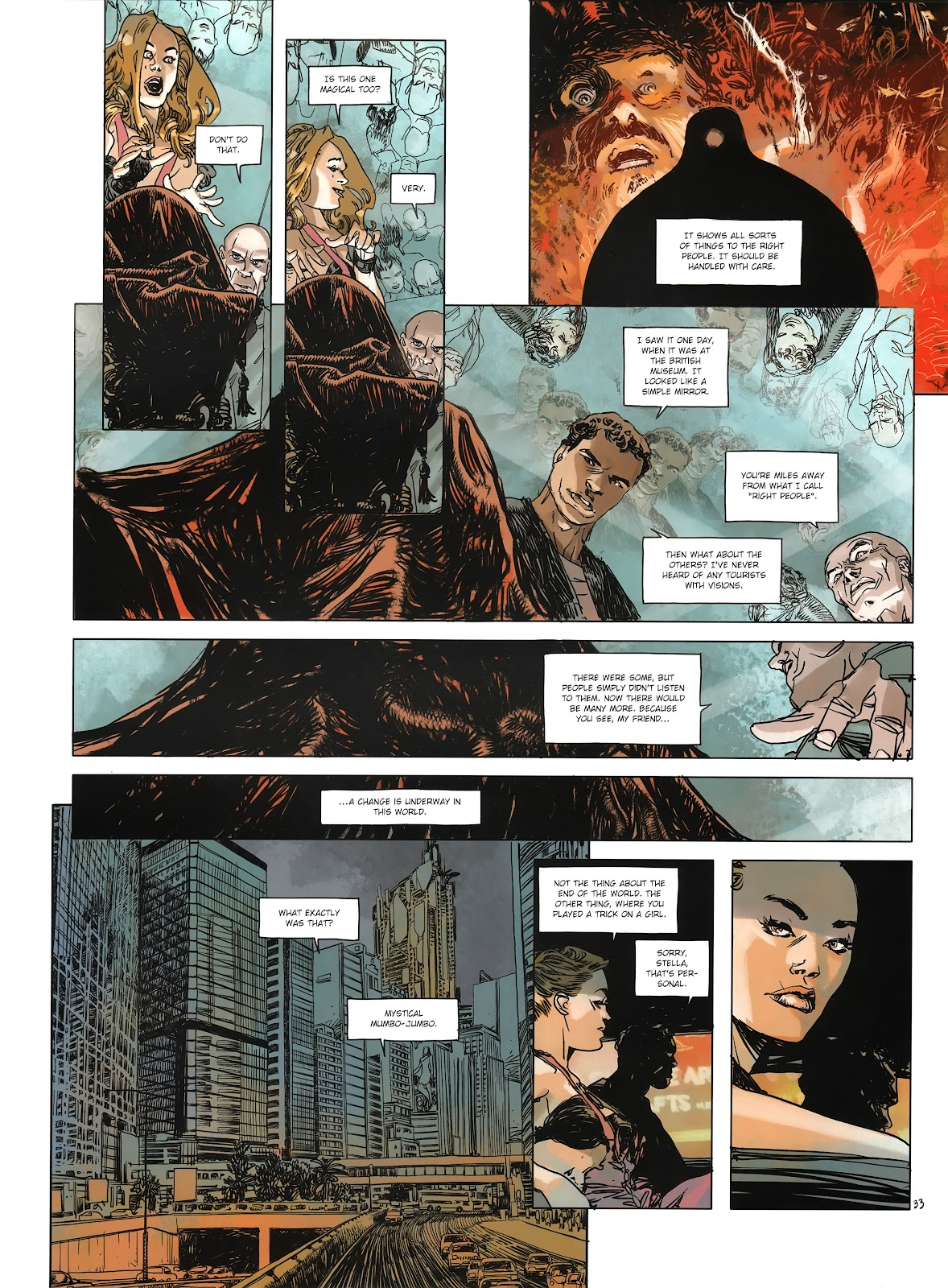 Read online Cutting Edge (2013) comic -  Issue #3 - 32