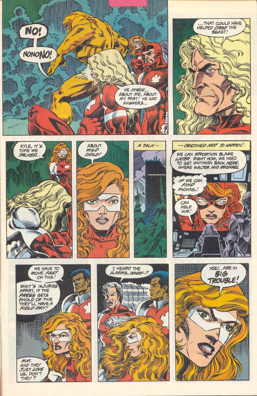 Read online Alpha Flight (1983) comic -  Issue #115 - 18