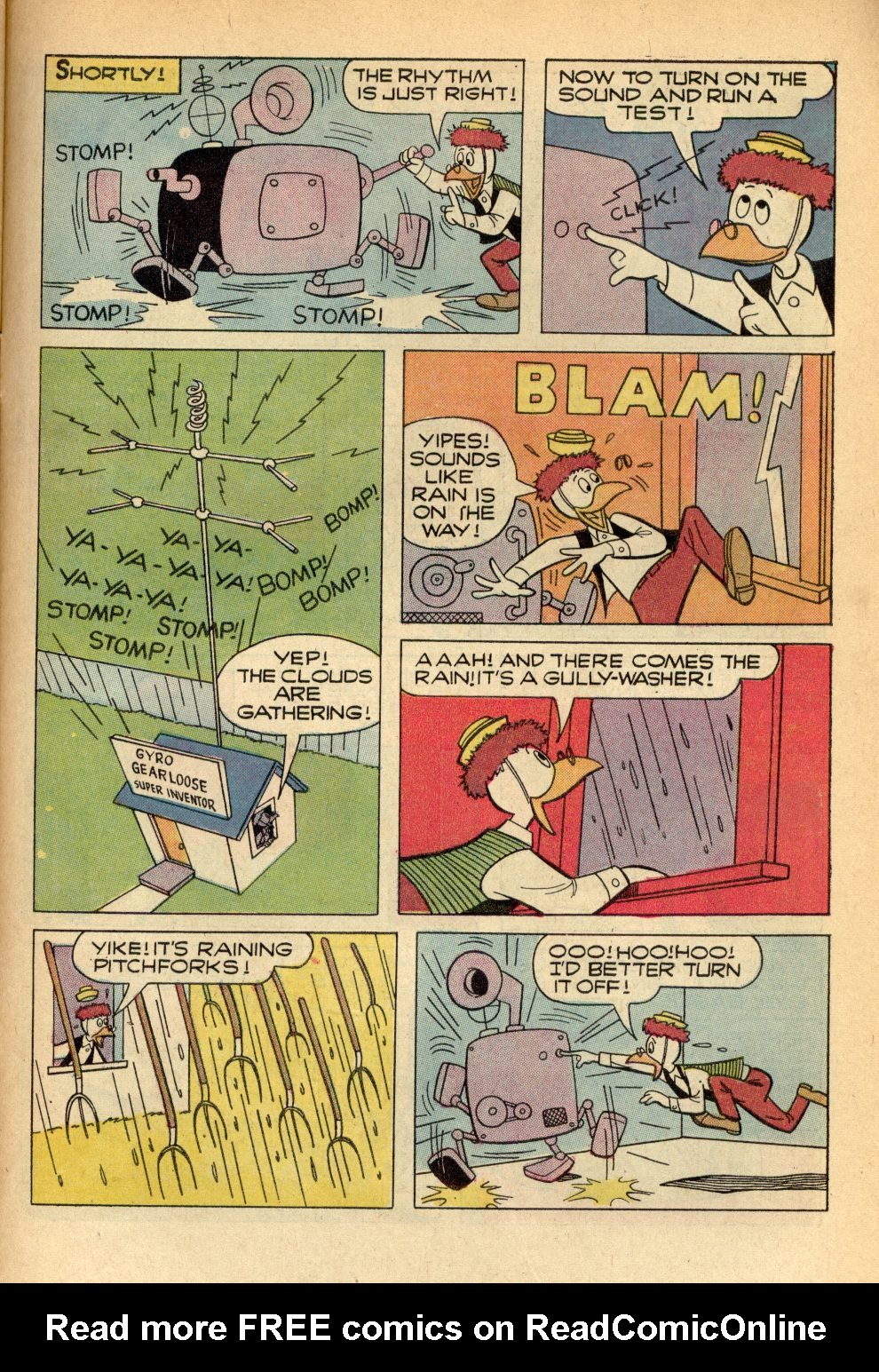 Read online Uncle Scrooge (1953) comic -  Issue #96 - 31