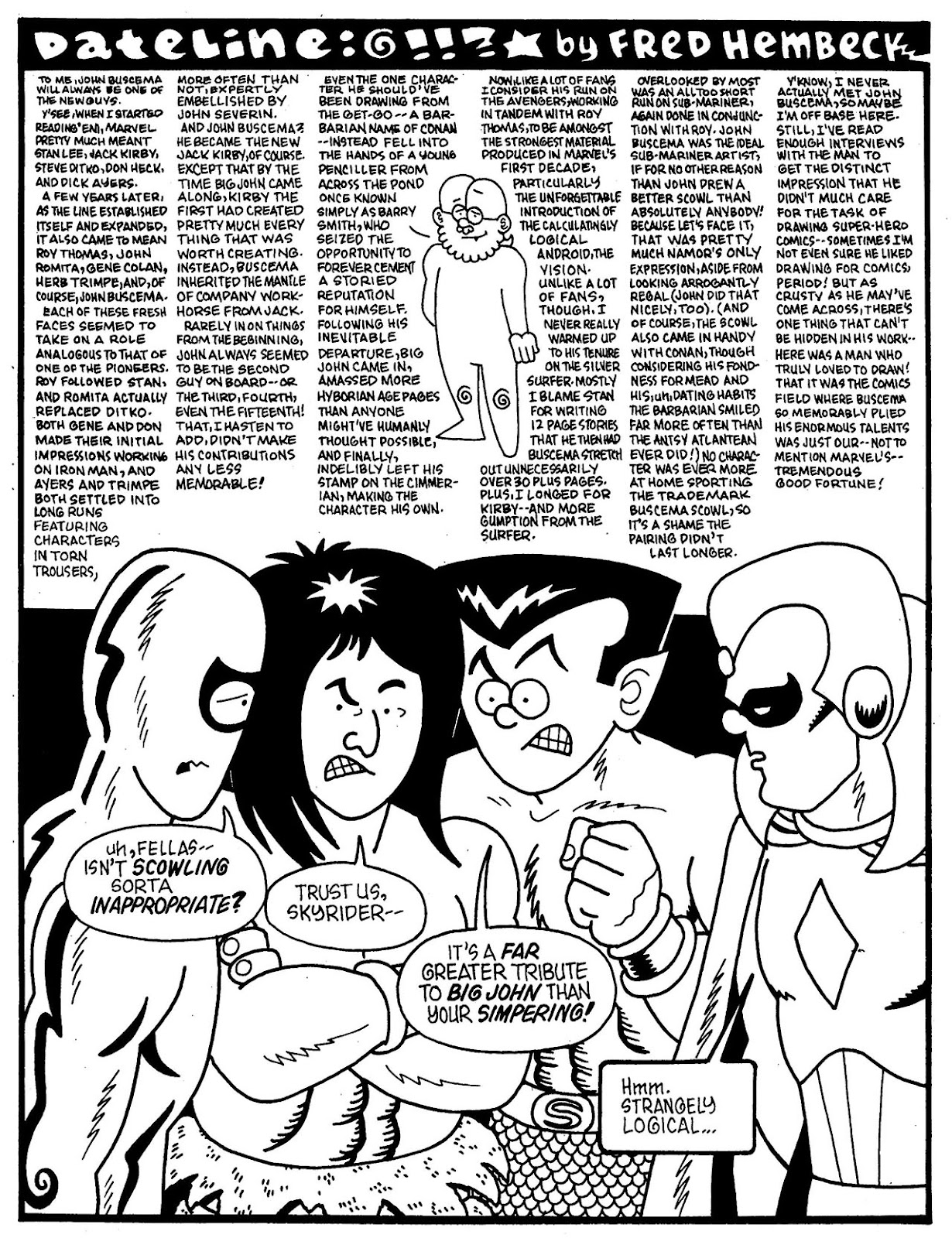 Read online The Nearly Complete Essential Hembeck Archives Omnibus comic -  Issue # TPB (Part 7) - 20