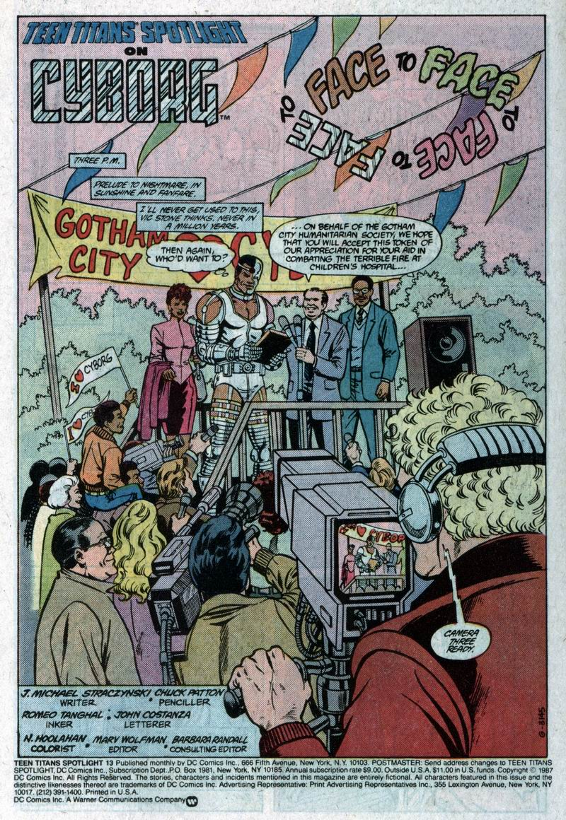 Teen Titans Spotlight issue 13 - Page 2
