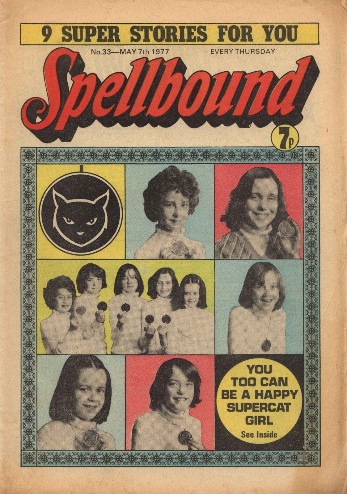 Spellbound (1988) issue 33 - Page 1