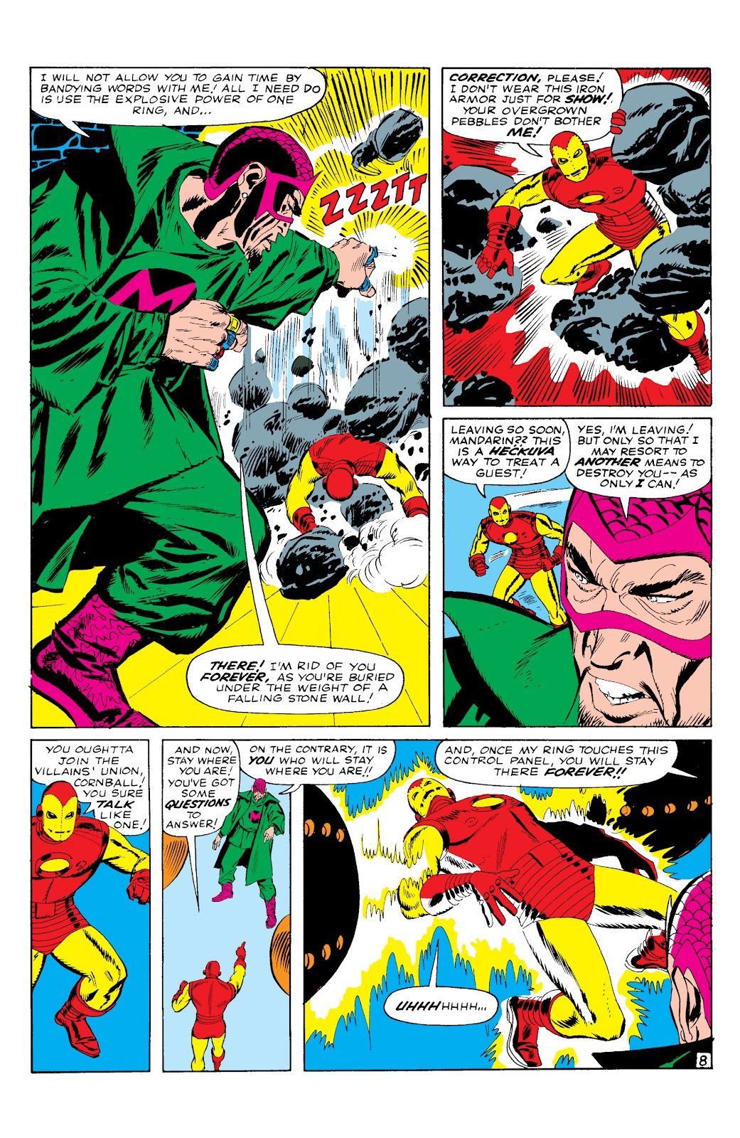 Read online Marvel Masterworks: The Invincible Iron Man comic -  Issue # TPB 2 (Part 1) - 54